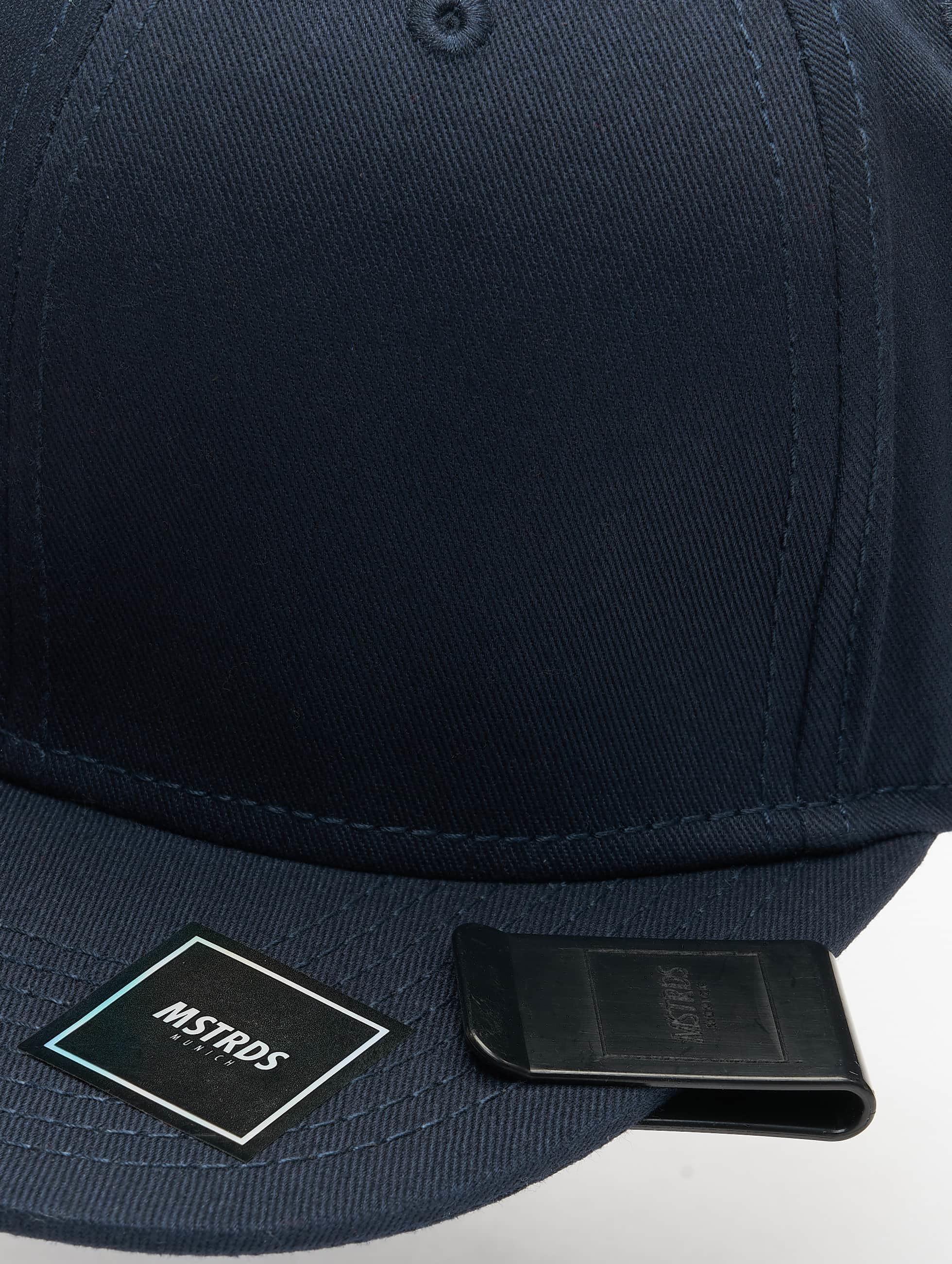 MSTRDS Snapback Cap Money Clip blau