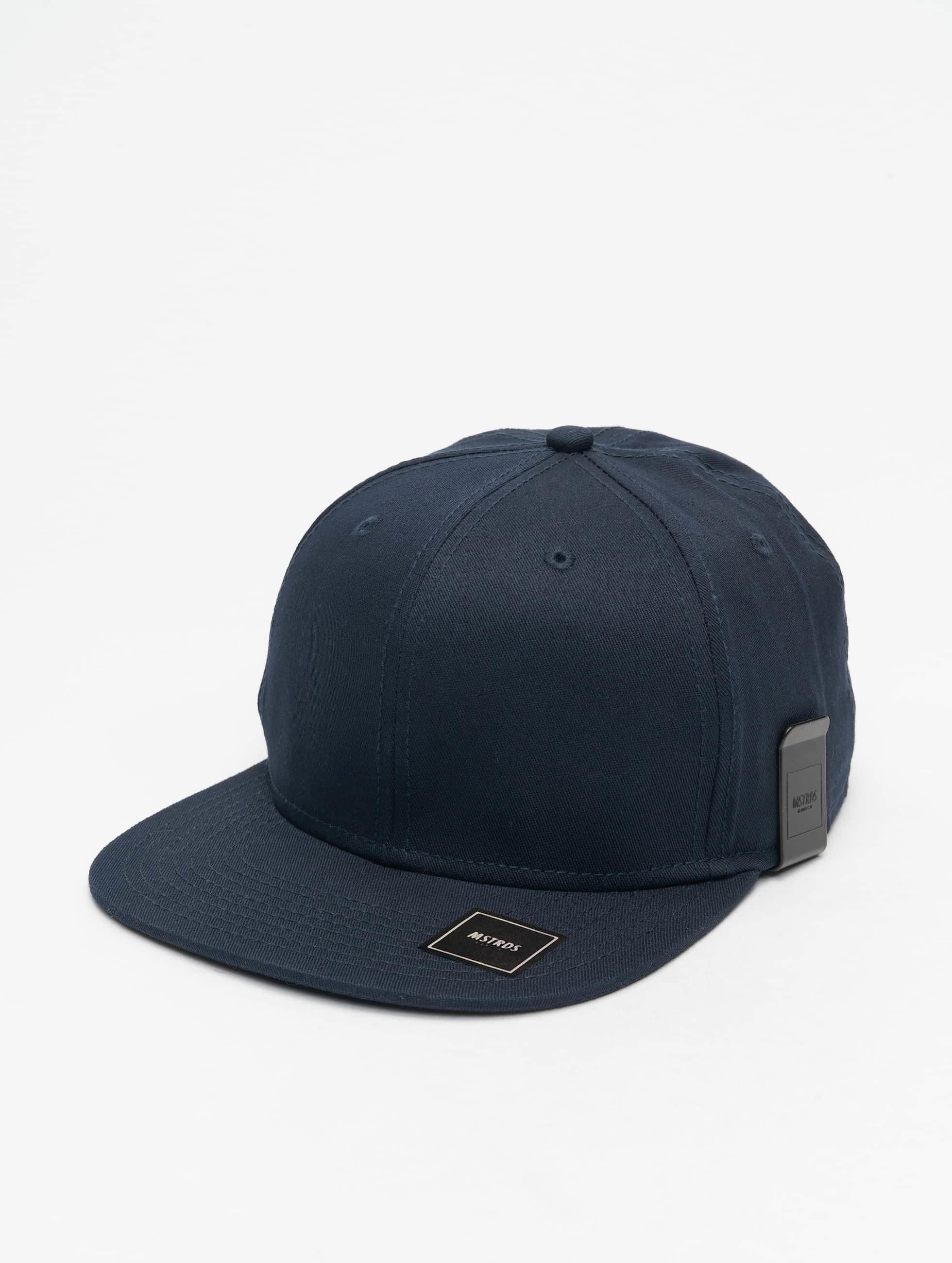 MSTRDS snapback cap Money Clip blauw