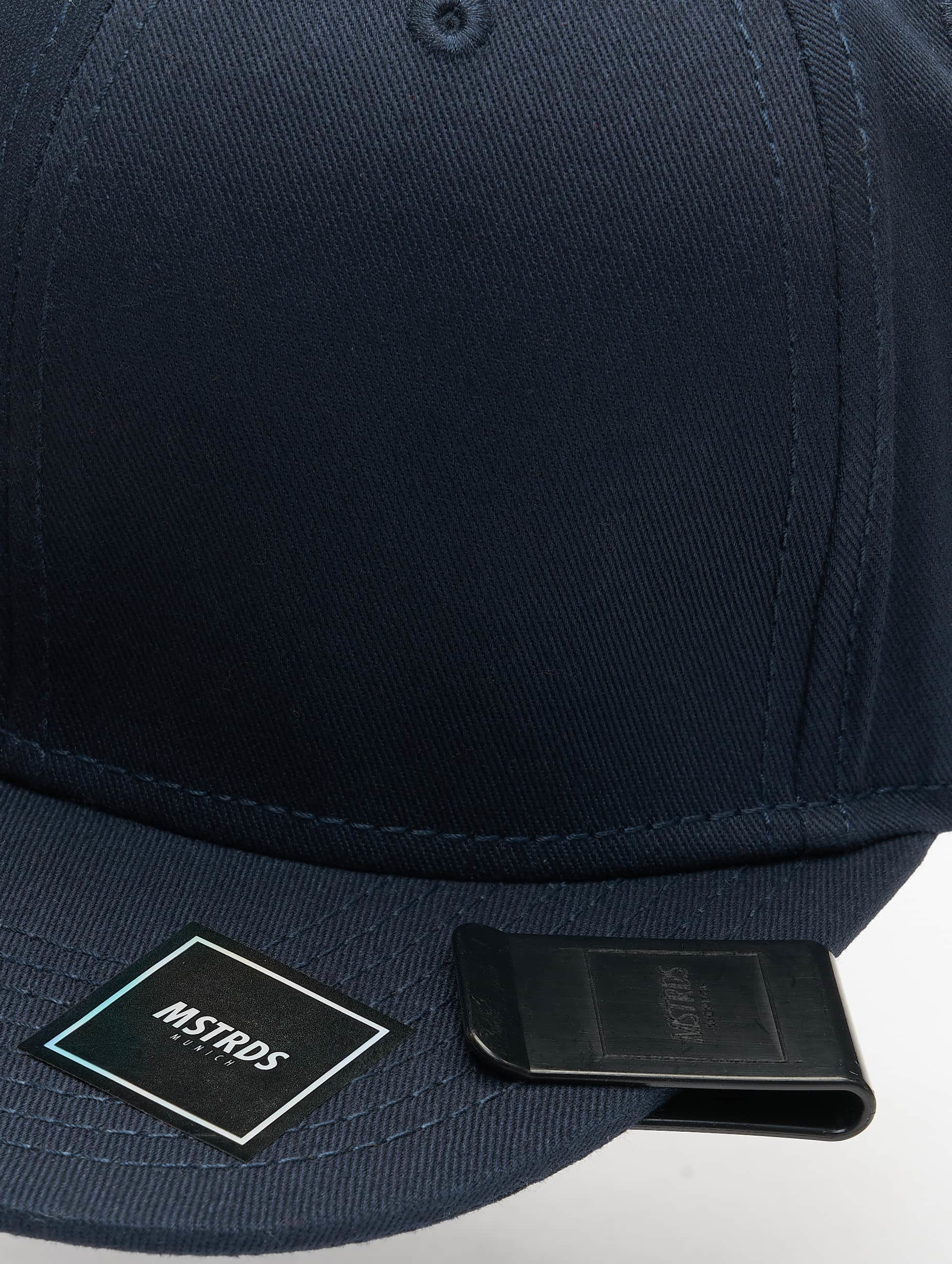 MSTRDS Snapback Cap Money Clip blue