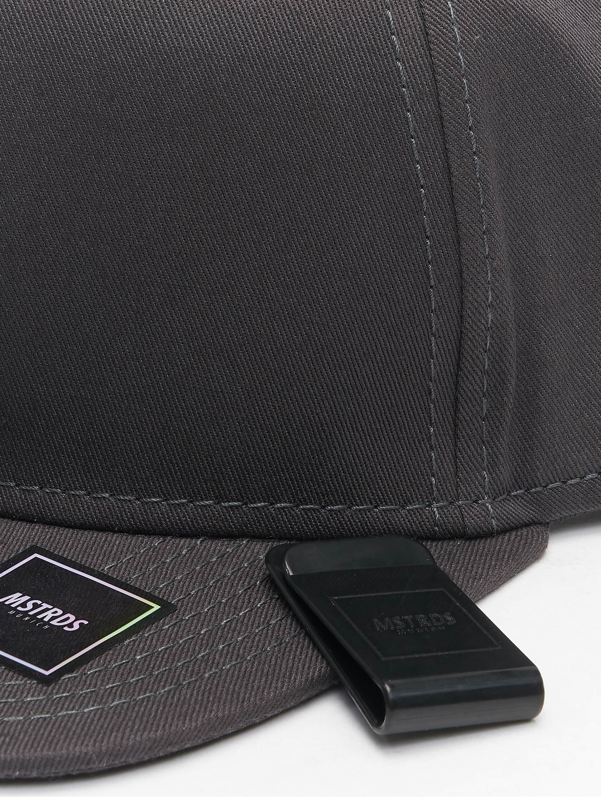 MSTRDS Snapback Cap Money Clip gray