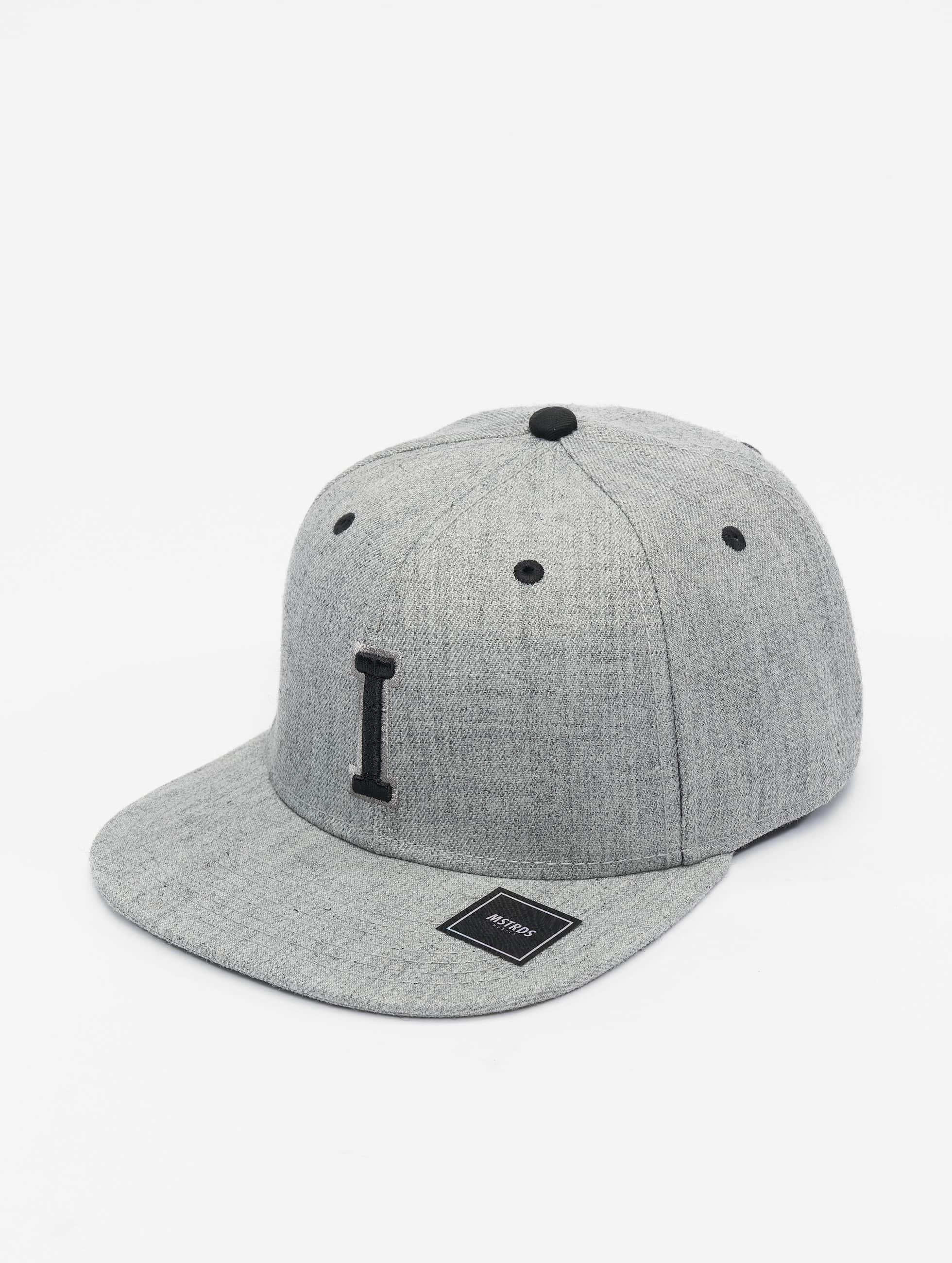 MSTRDS Snapback Cap I Letter grey