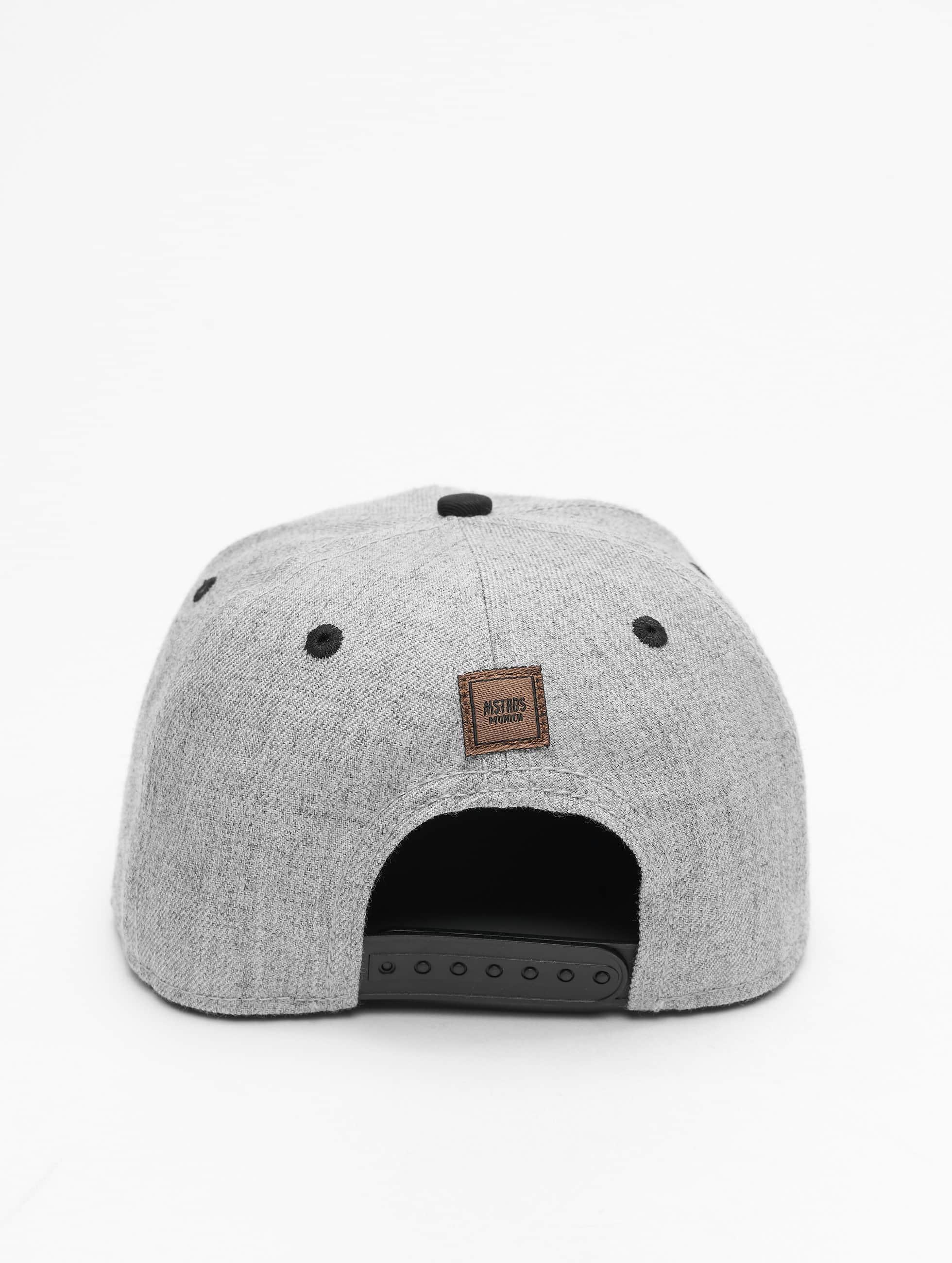 MSTRDS Snapback Cap M Letter grey