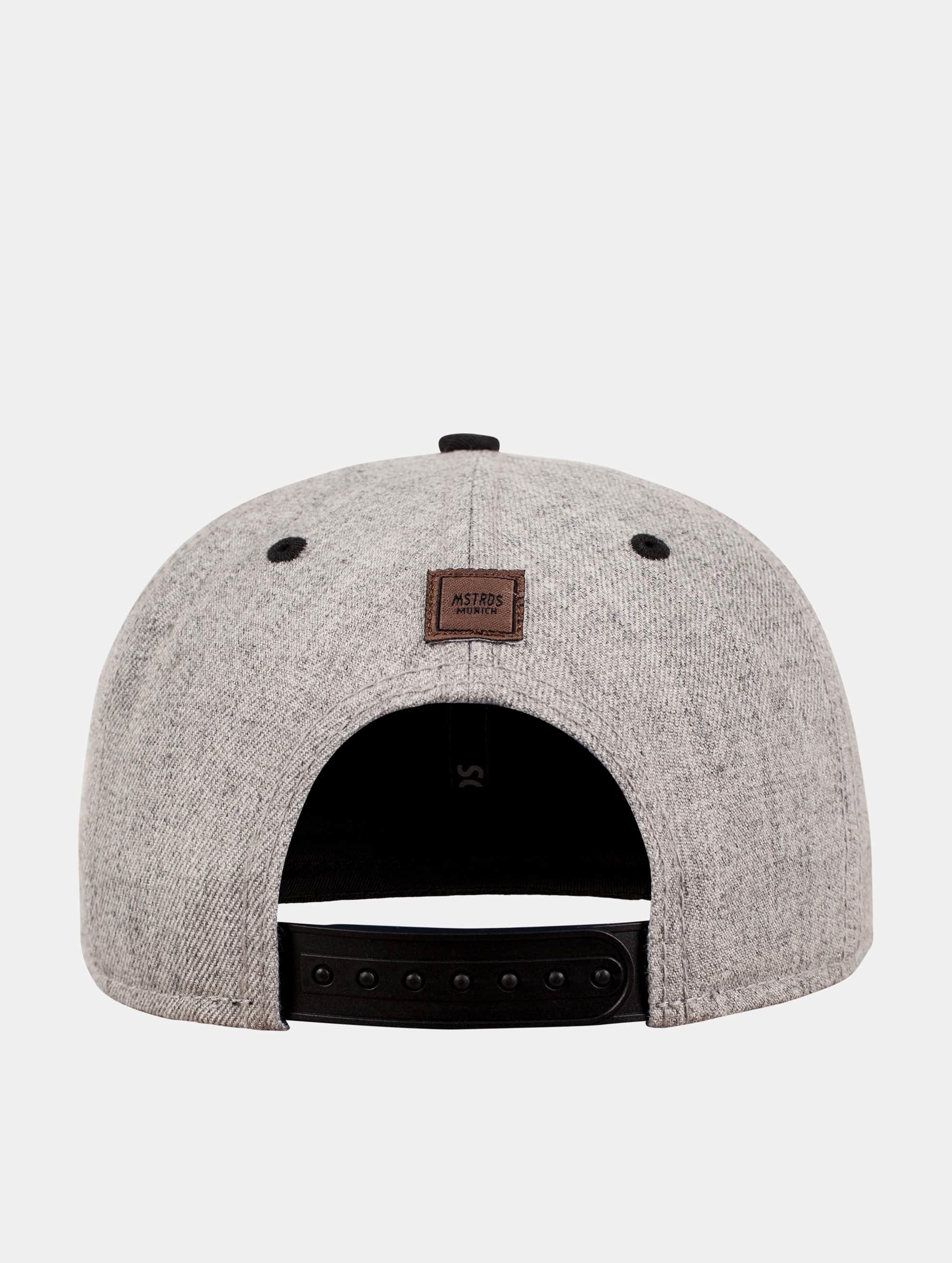 MSTRDS Snapback Cap S Letter grey