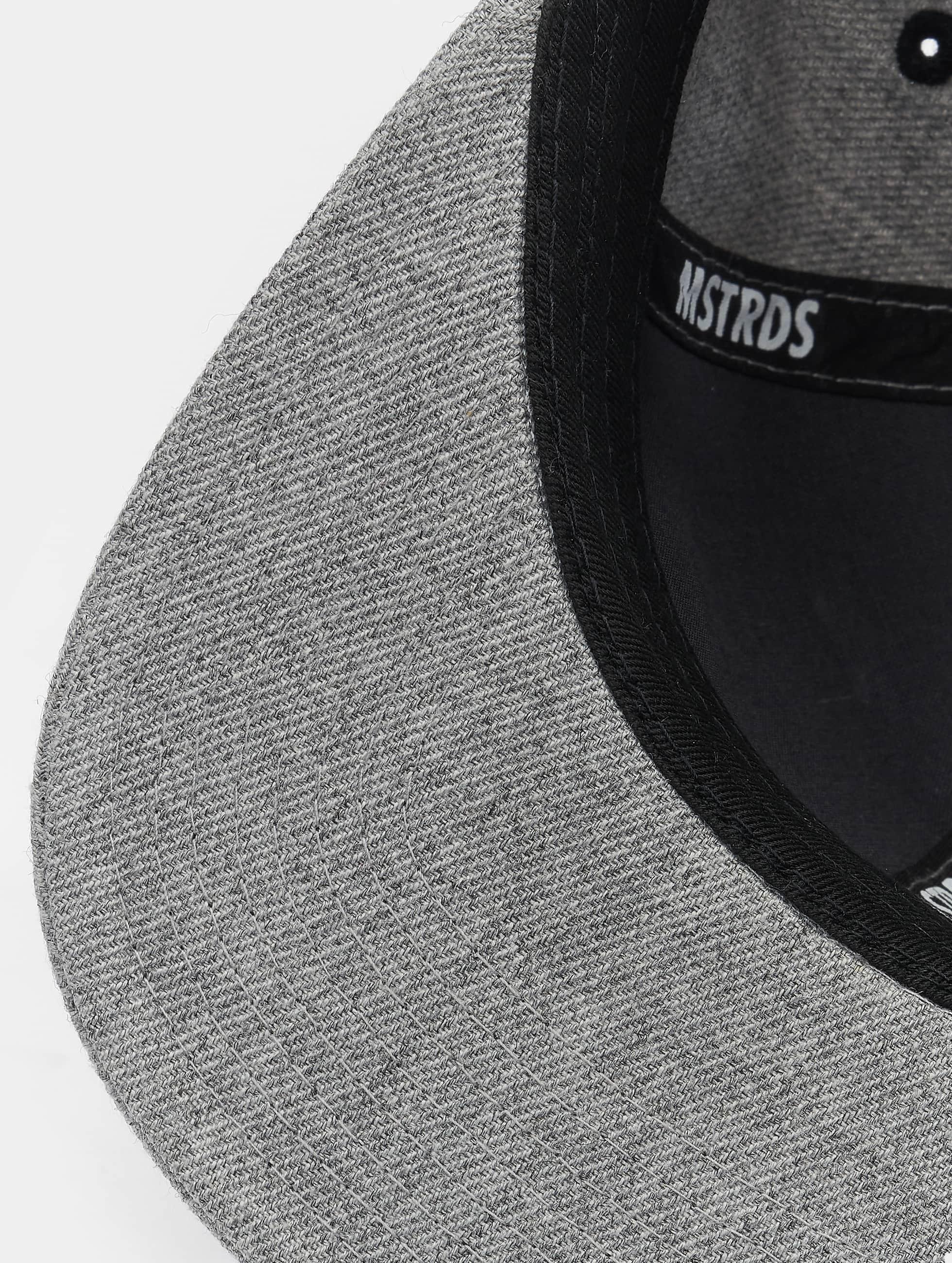 MSTRDS snapback cap C Letter grijs