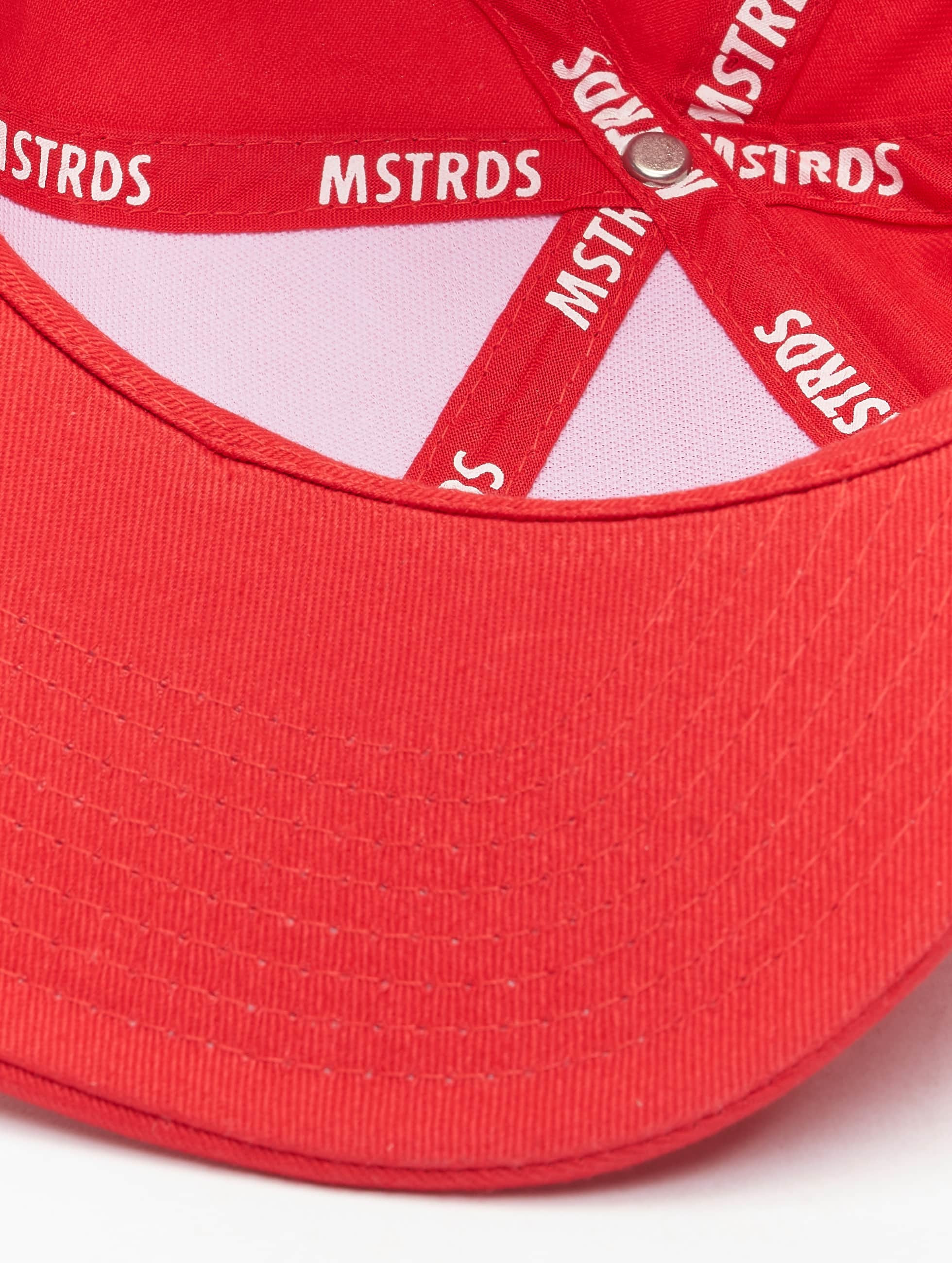 MSTRDS snapback cap Money Clip rood