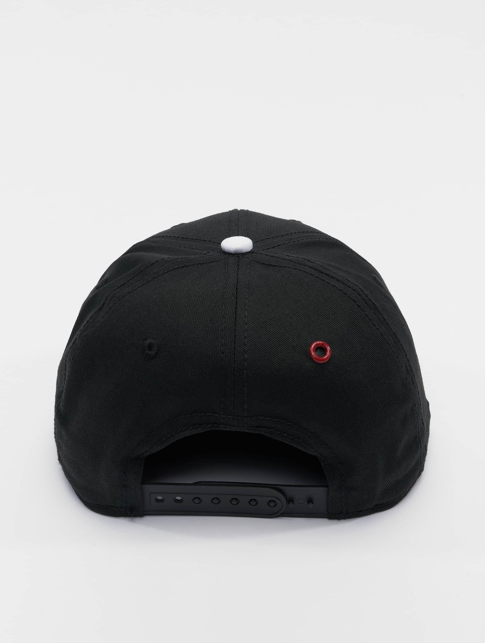MSTRDS Snapback Cap C Letter schwarz
