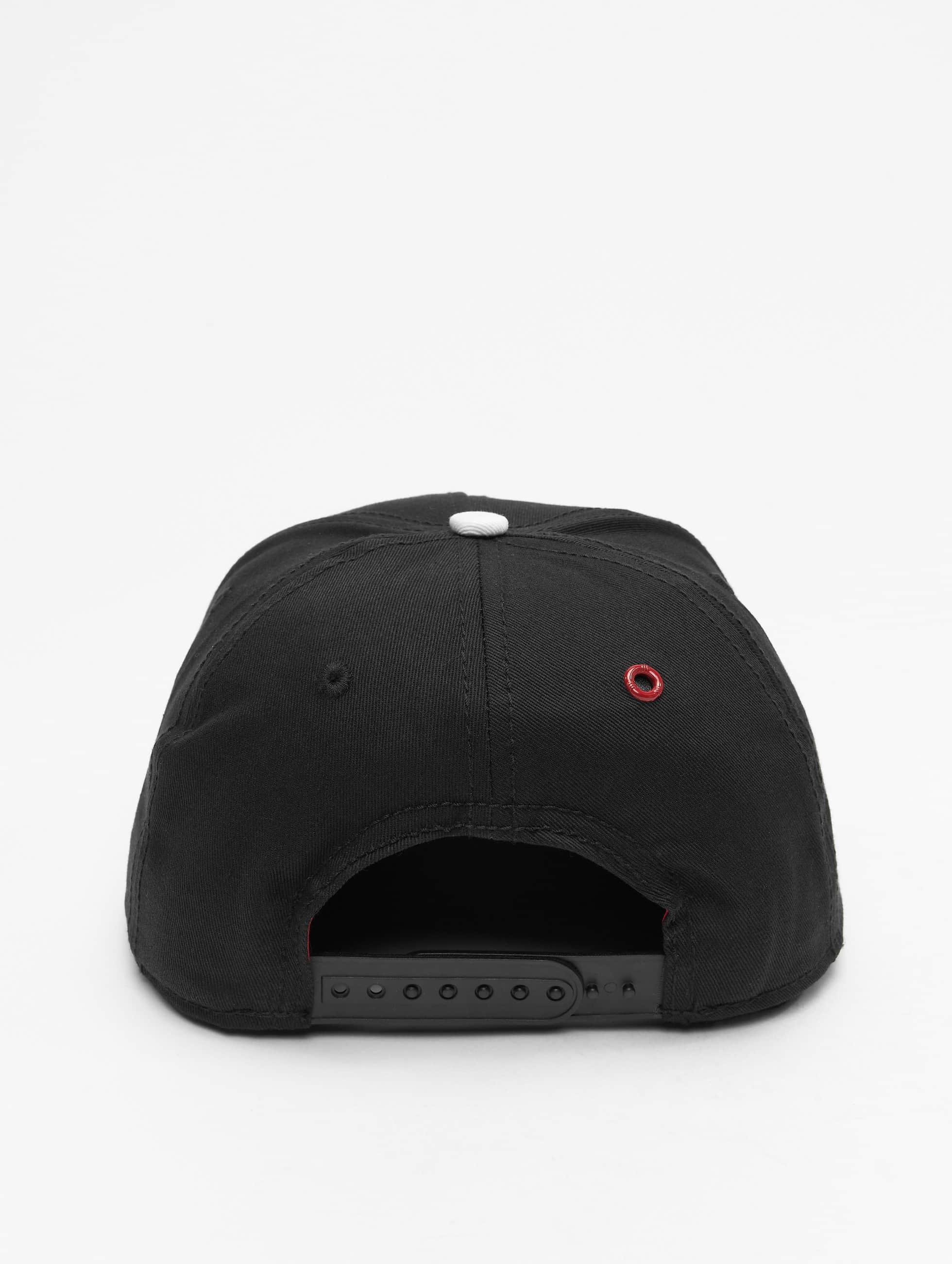 MSTRDS Snapback Cap G Letter schwarz