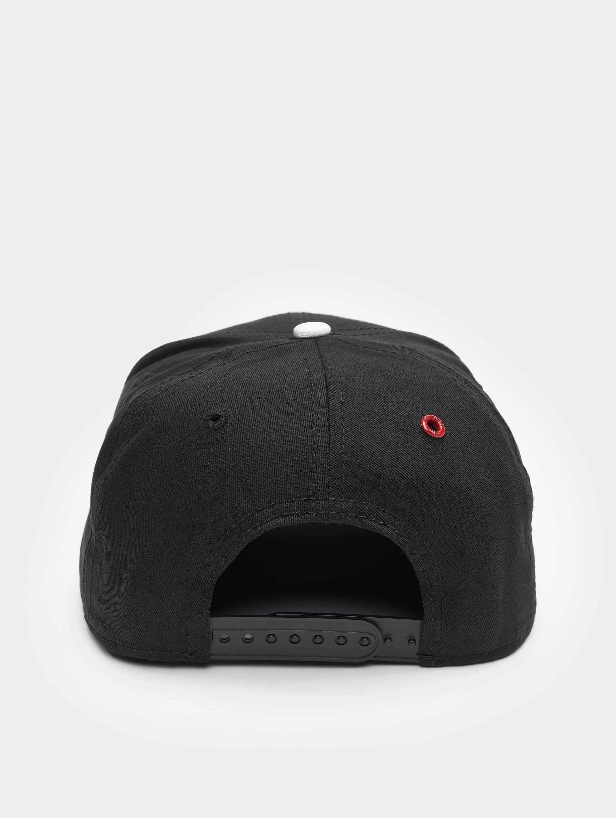 MSTRDS Snapback Cap O Letter schwarz