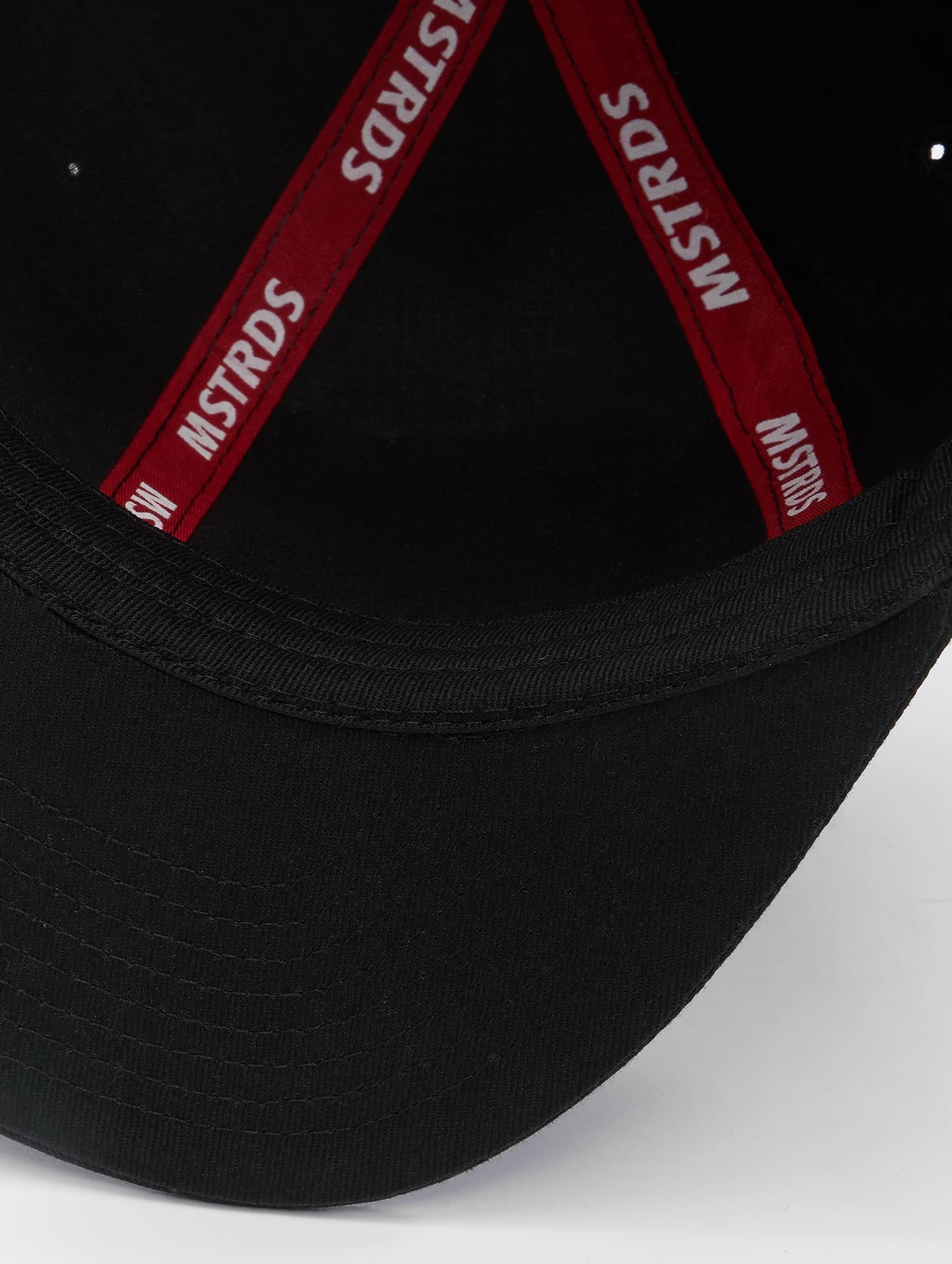 MSTRDS Snapback Cap S Letter schwarz