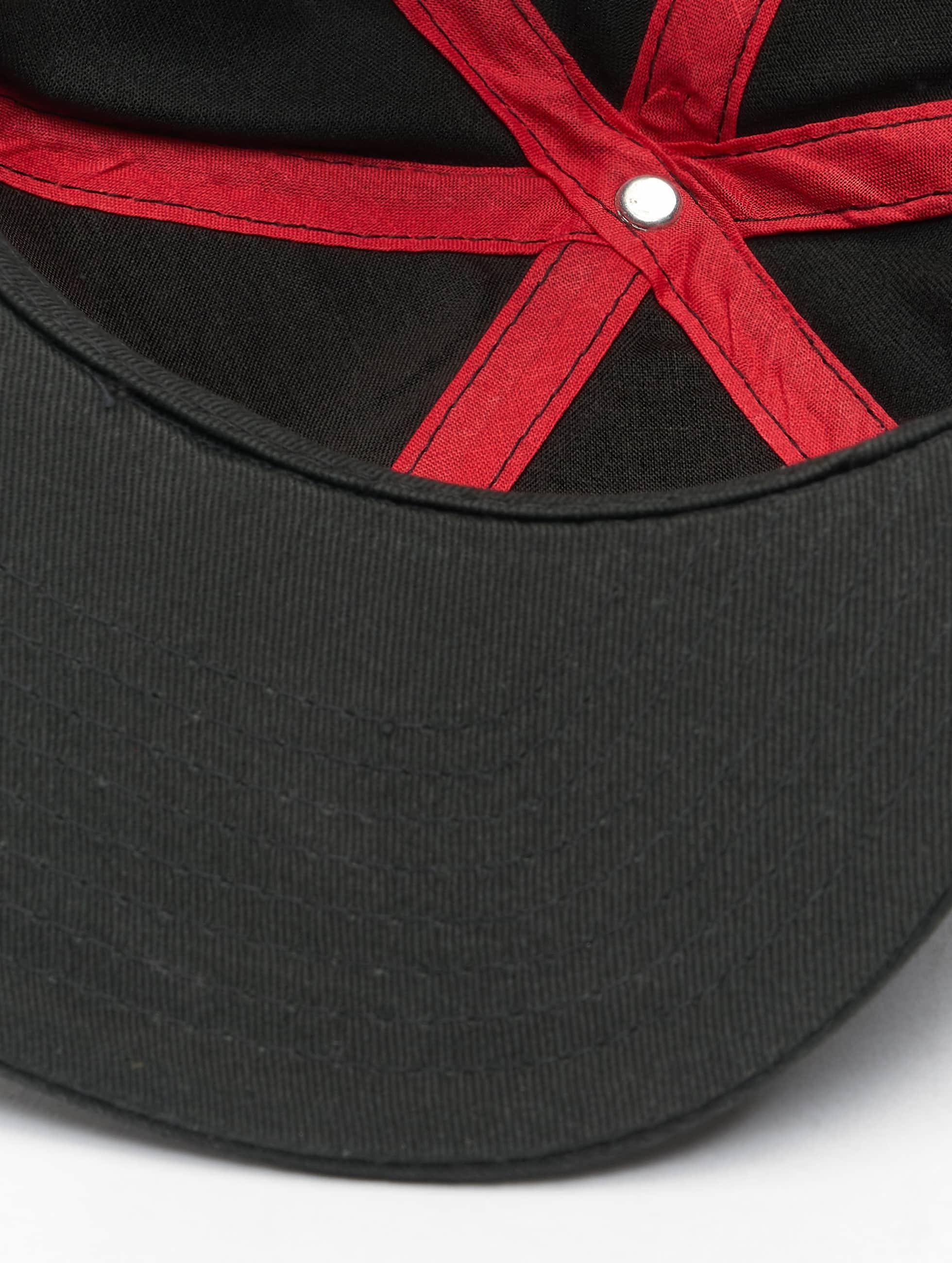 MSTRDS Snapback Cap W Letter schwarz