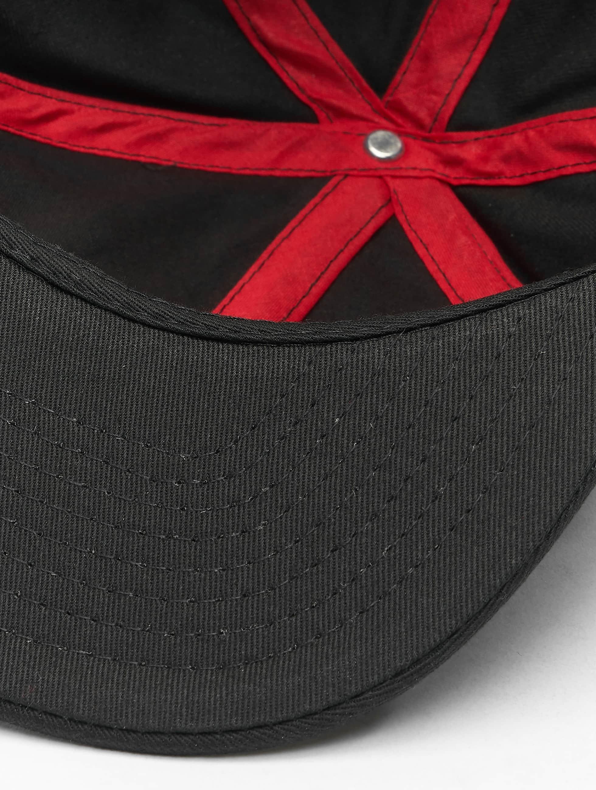 MSTRDS Snapback Cap Y Letter schwarz