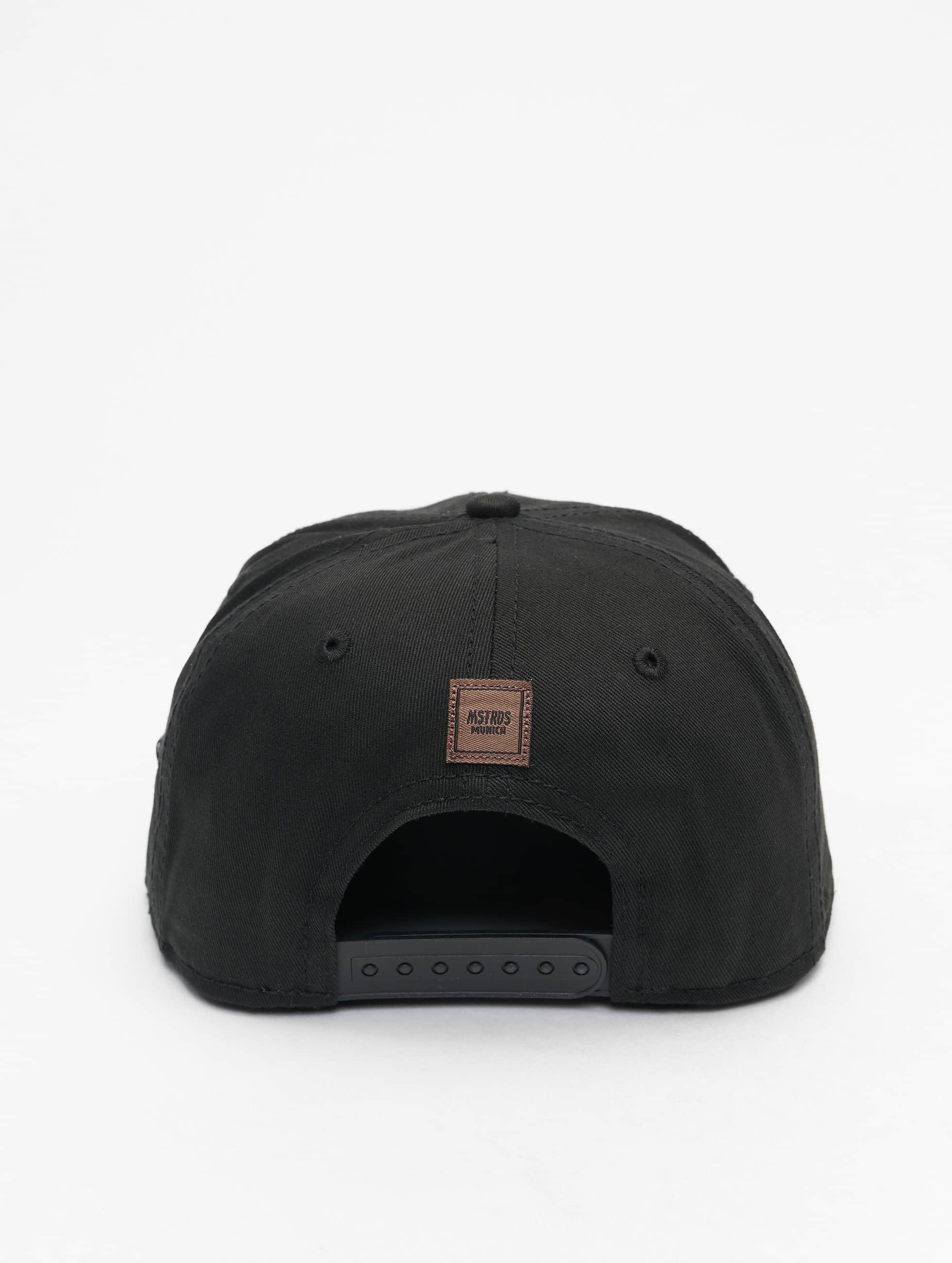 MSTRDS Snapback Cap Money Clip schwarz
