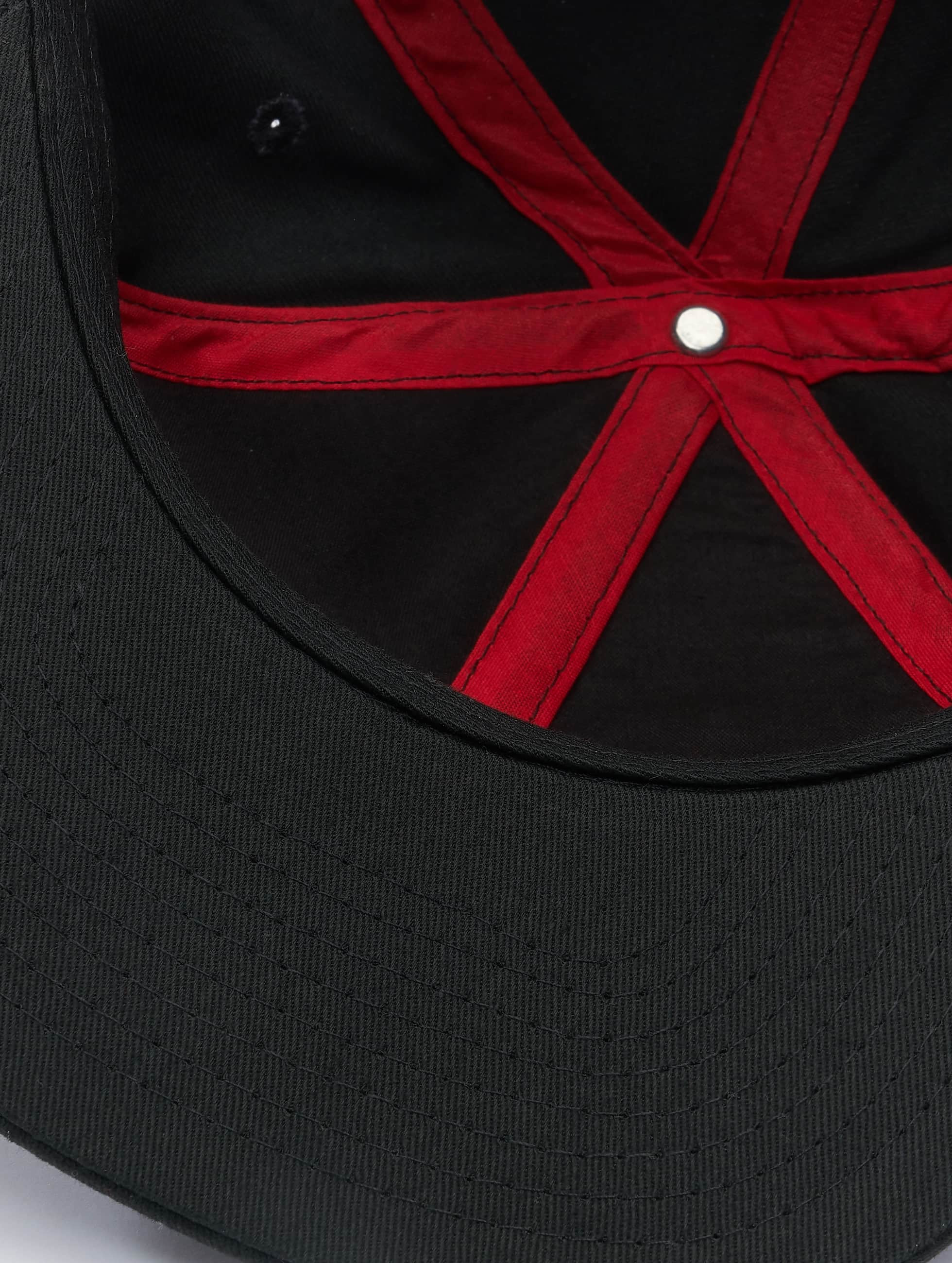 MSTRDS snapback cap C Letter zwart
