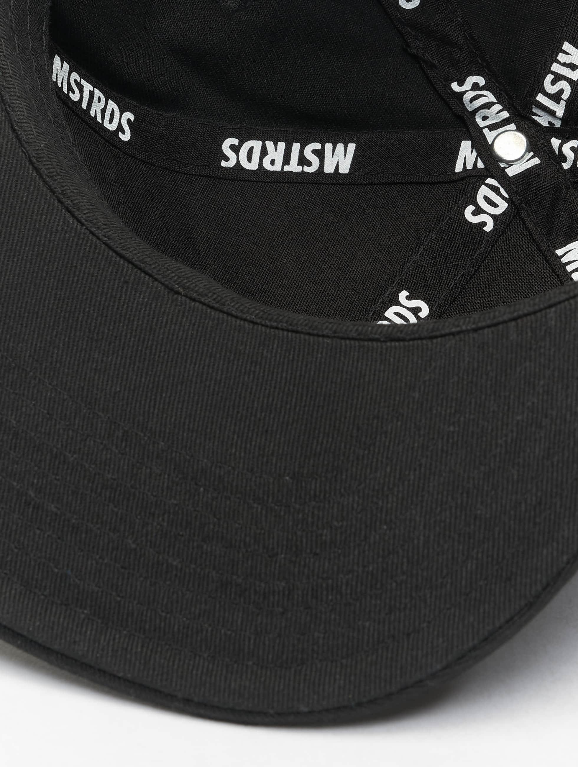 MSTRDS snapback cap D Letter zwart