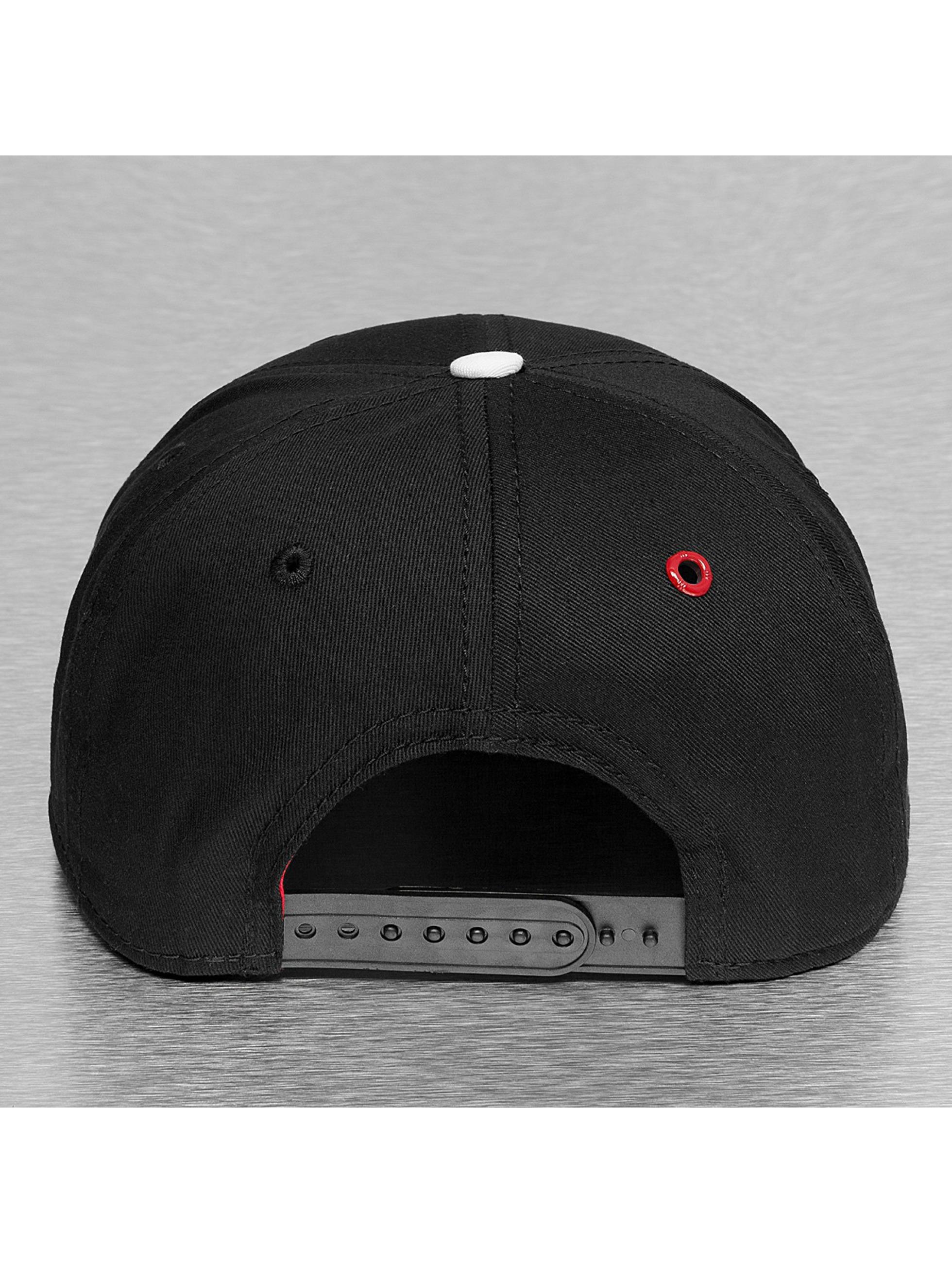 MSTRDS snapback cap F Letter zwart