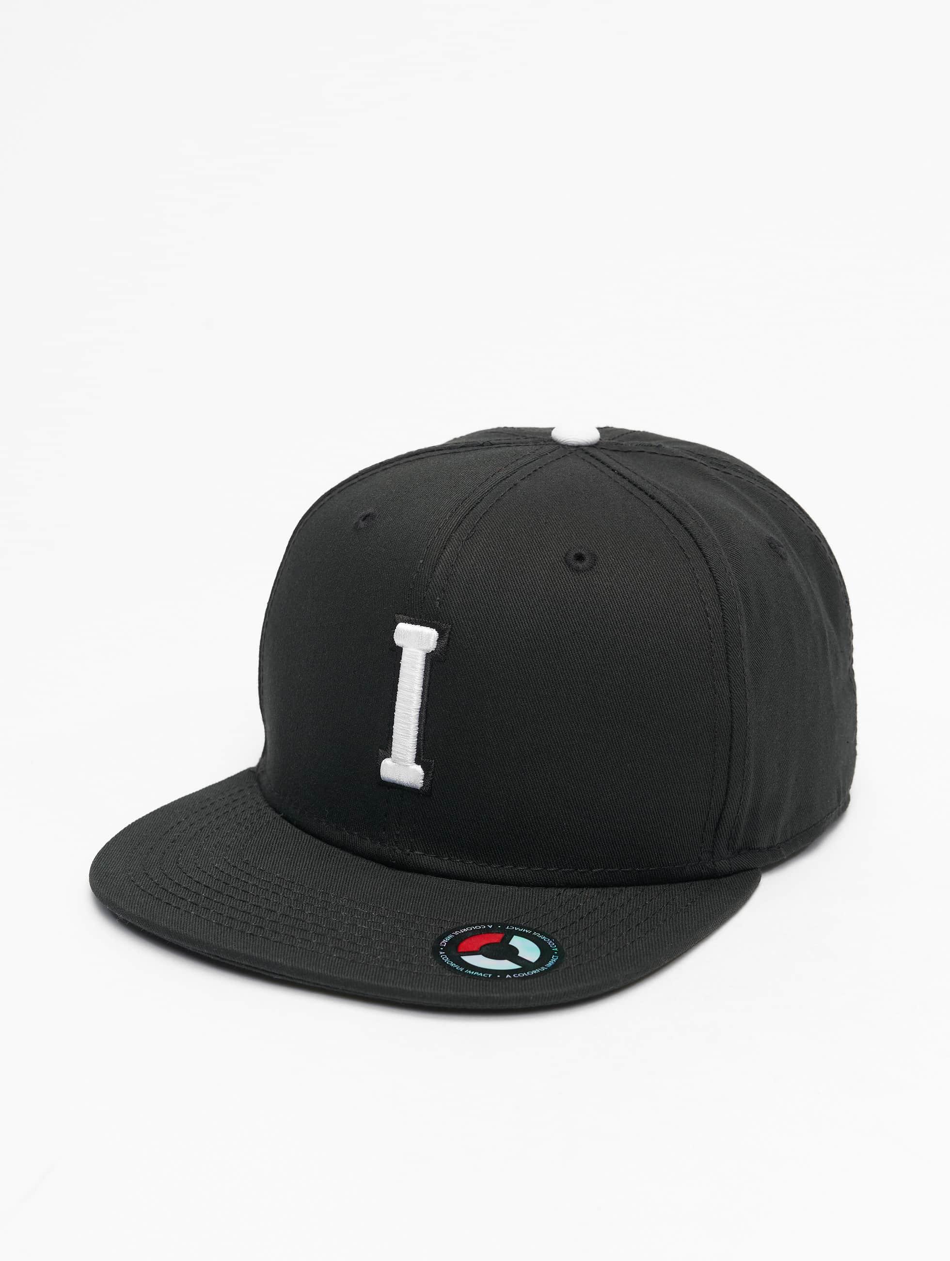 MSTRDS snapback cap I Letter zwart