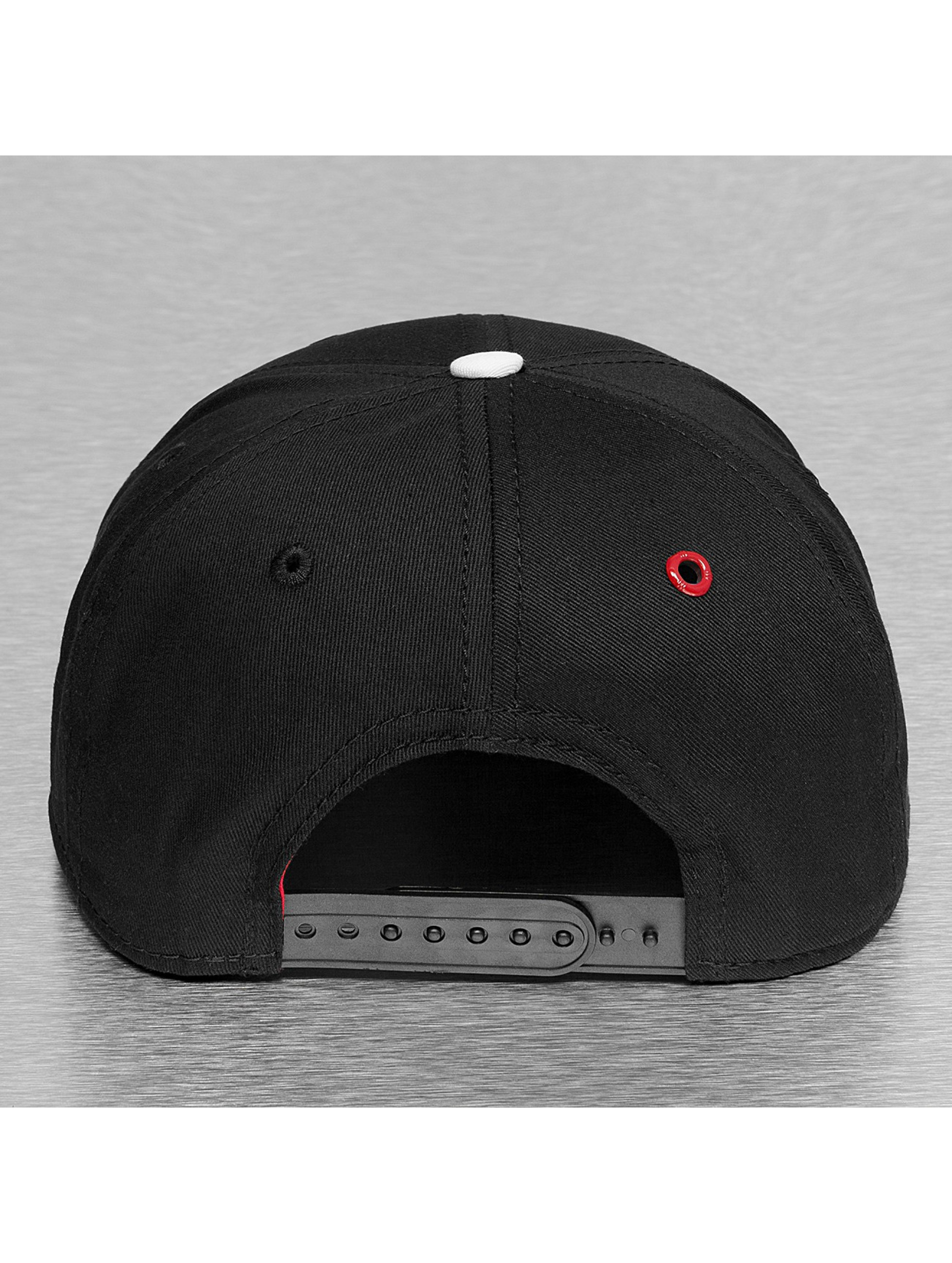 MSTRDS snapback cap K Letter zwart
