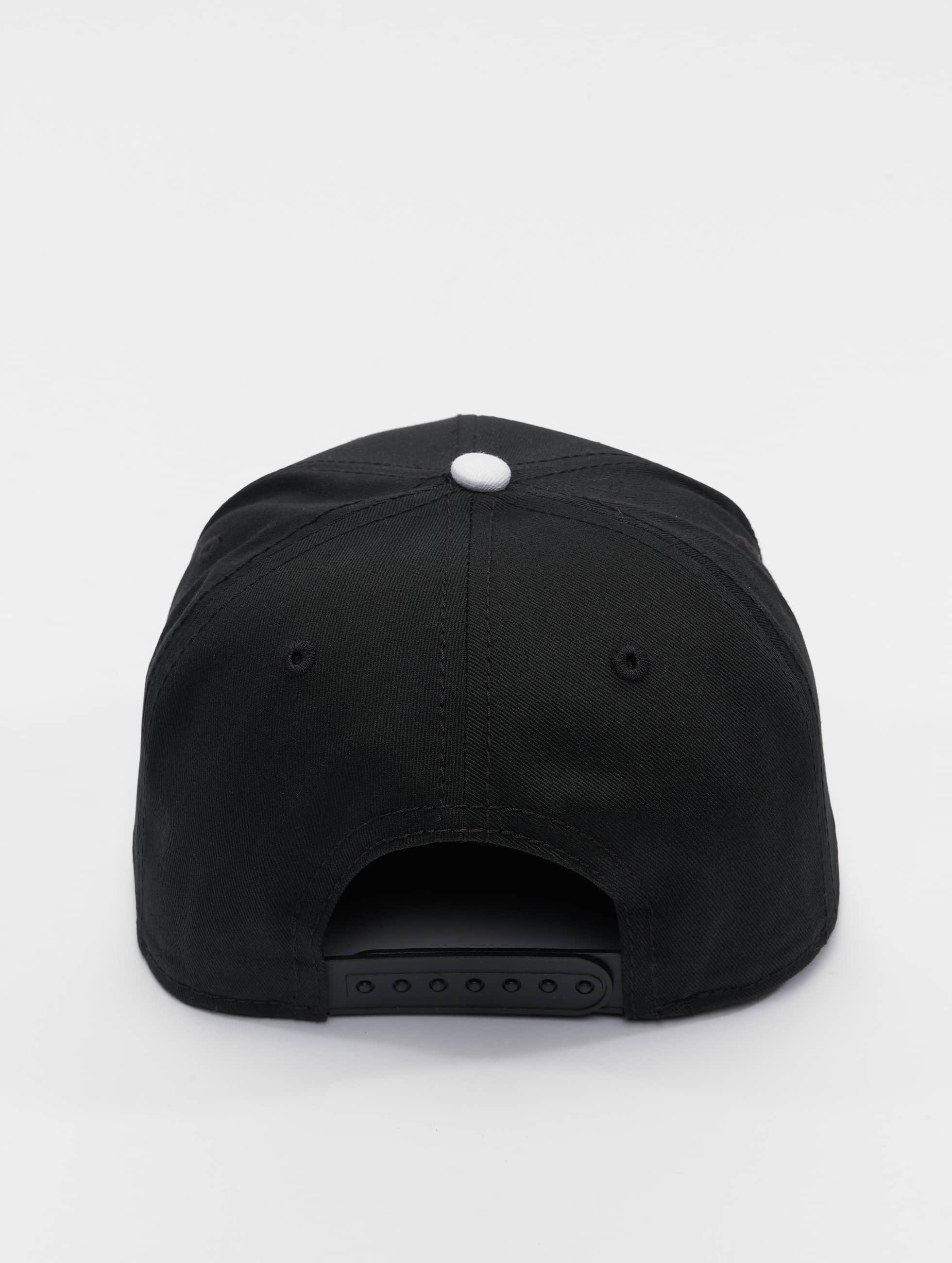 MSTRDS snapback cap S Letter zwart