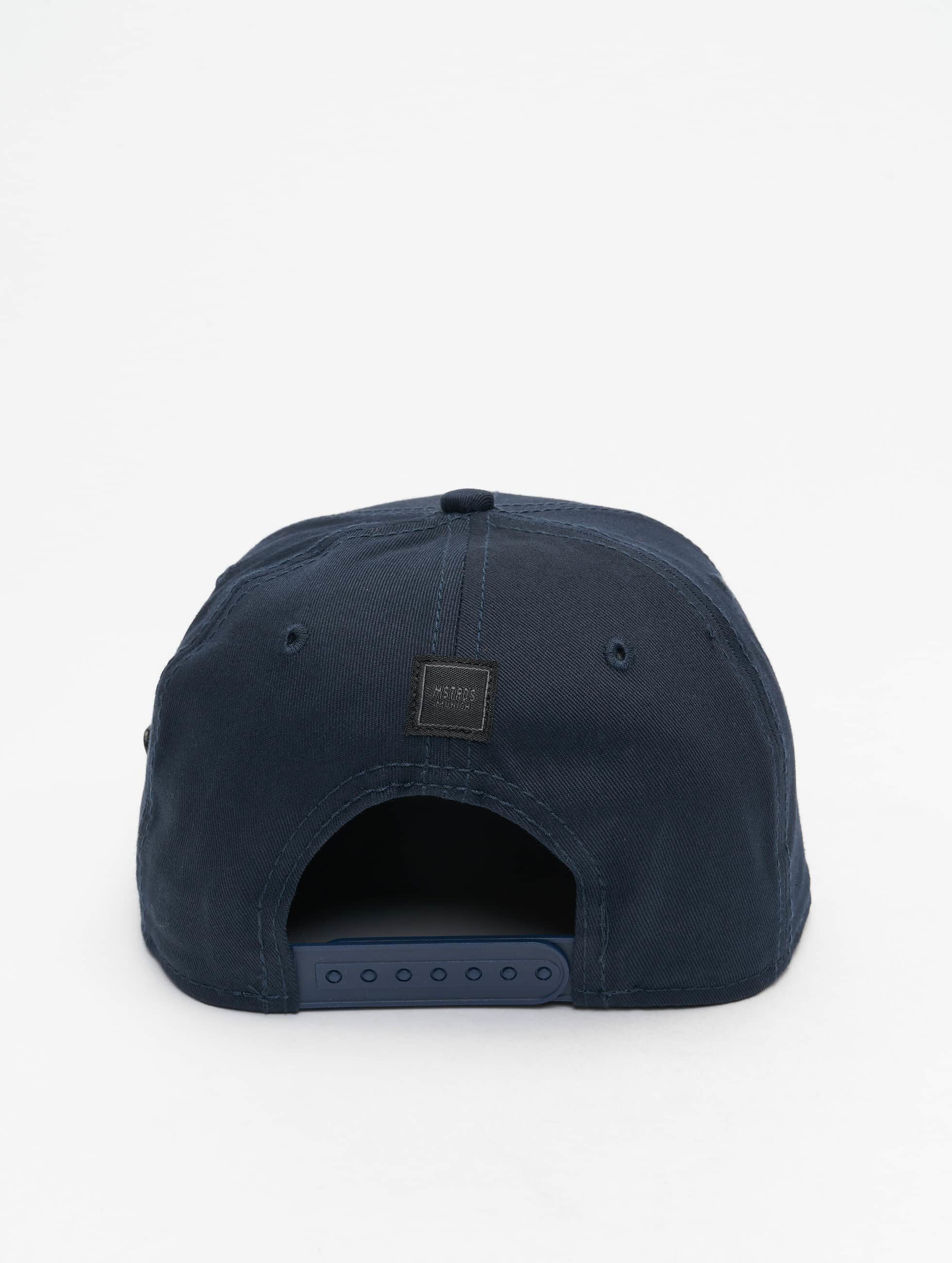 MSTRDS Snapback Caps Money Clip blå