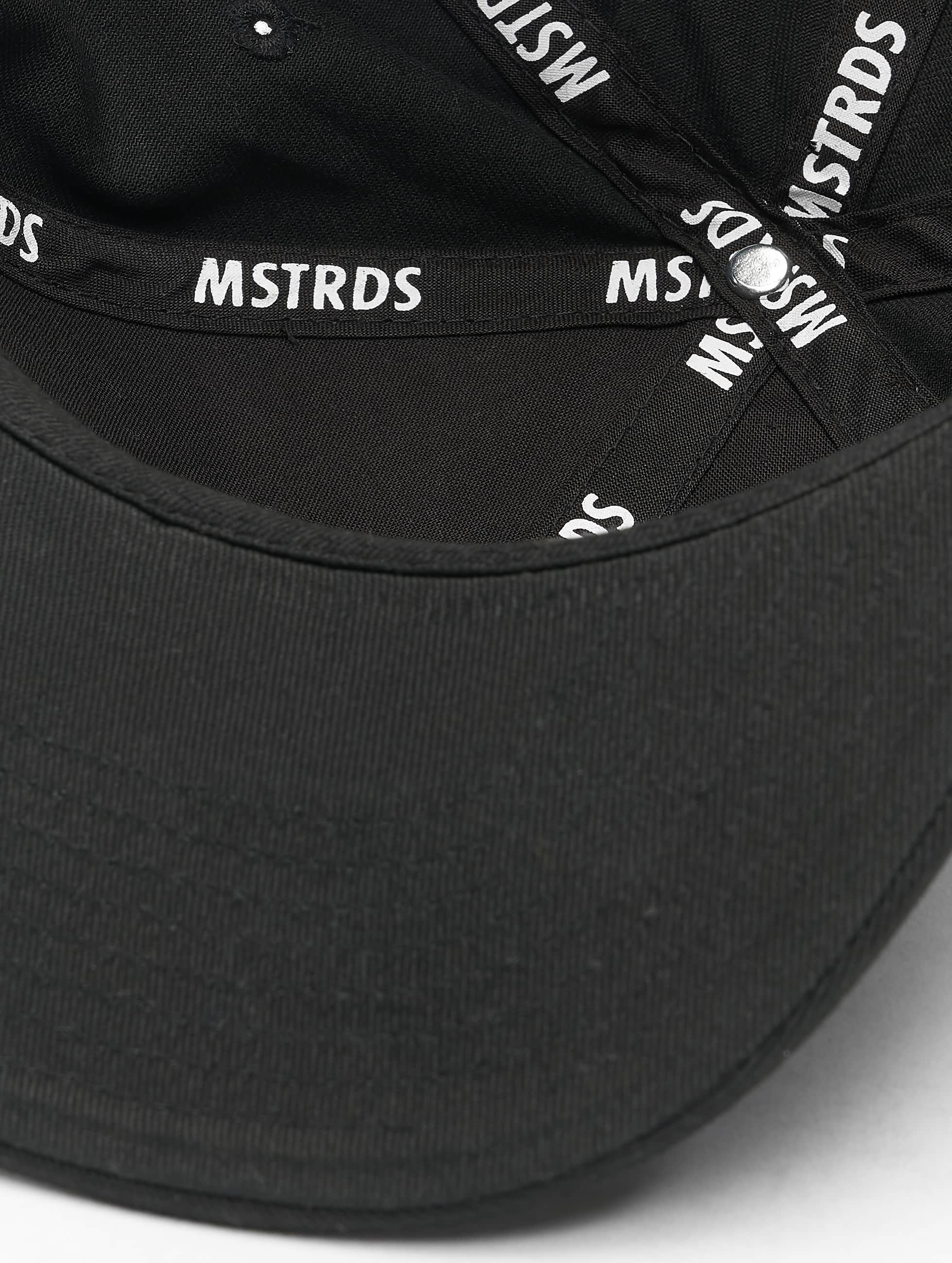 MSTRDS Snapback Caps Money Clip czarny