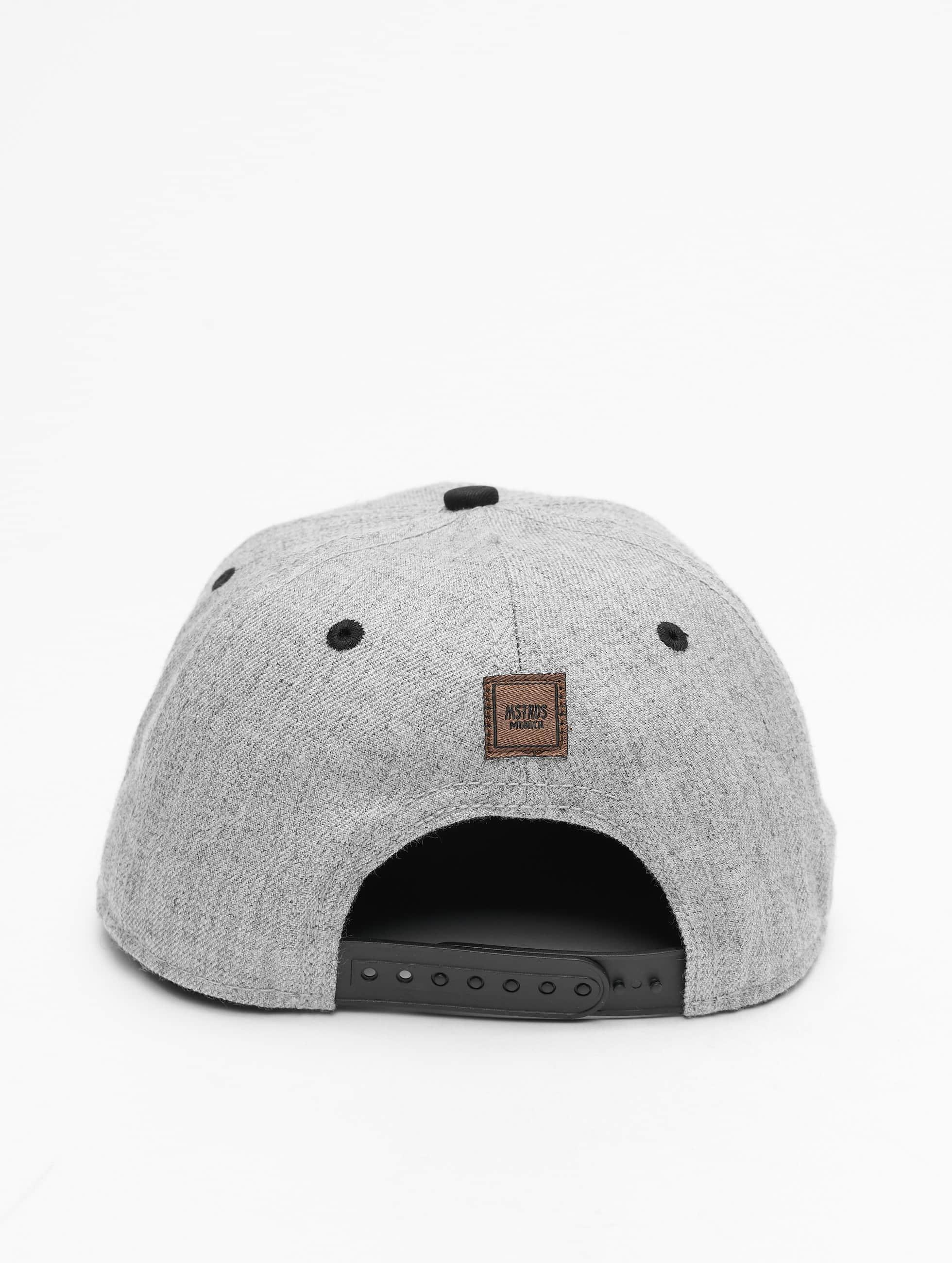 MSTRDS Snapback Caps Z Letter grå