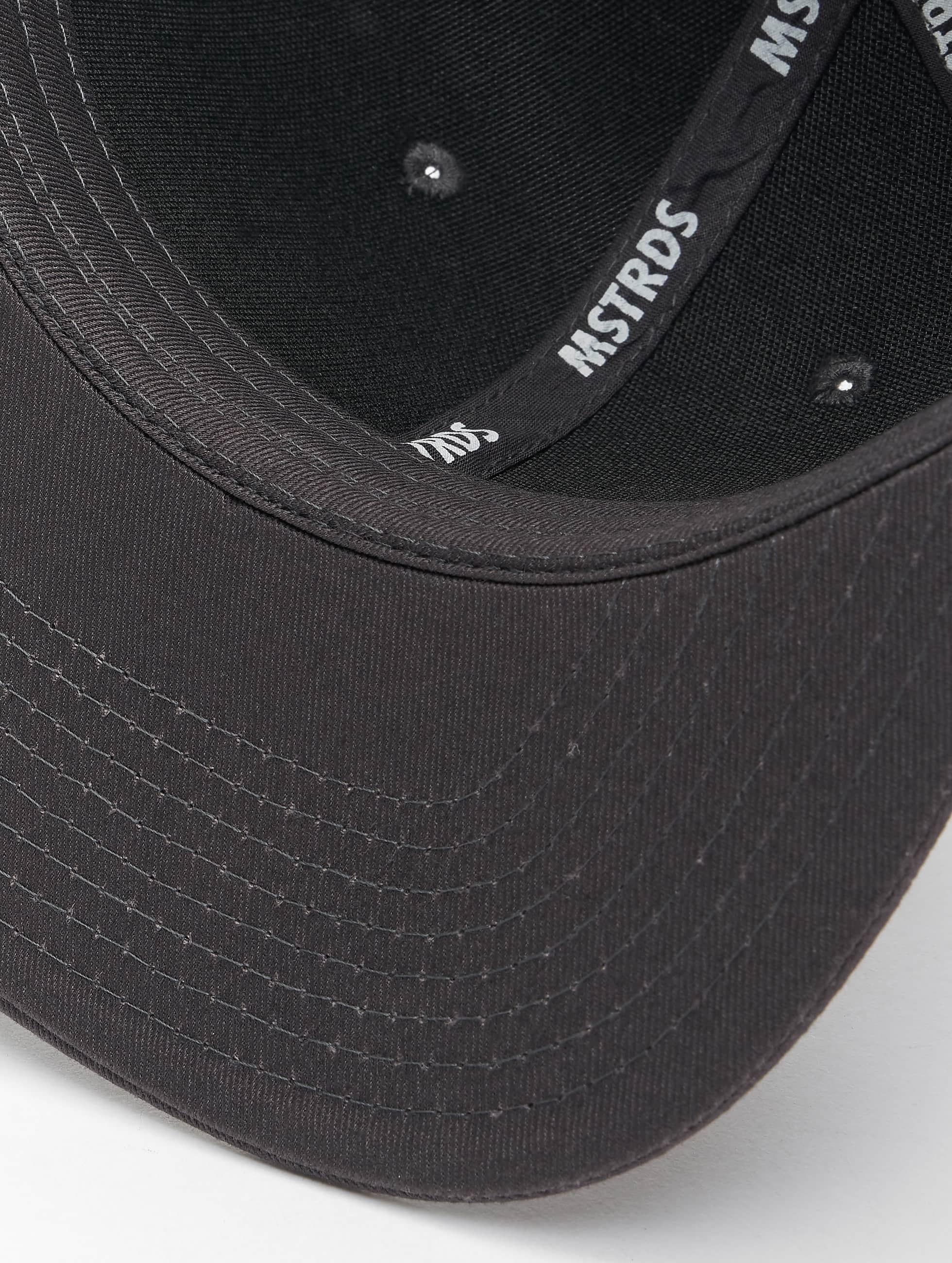 MSTRDS Snapback Caps Money Clip harmaa
