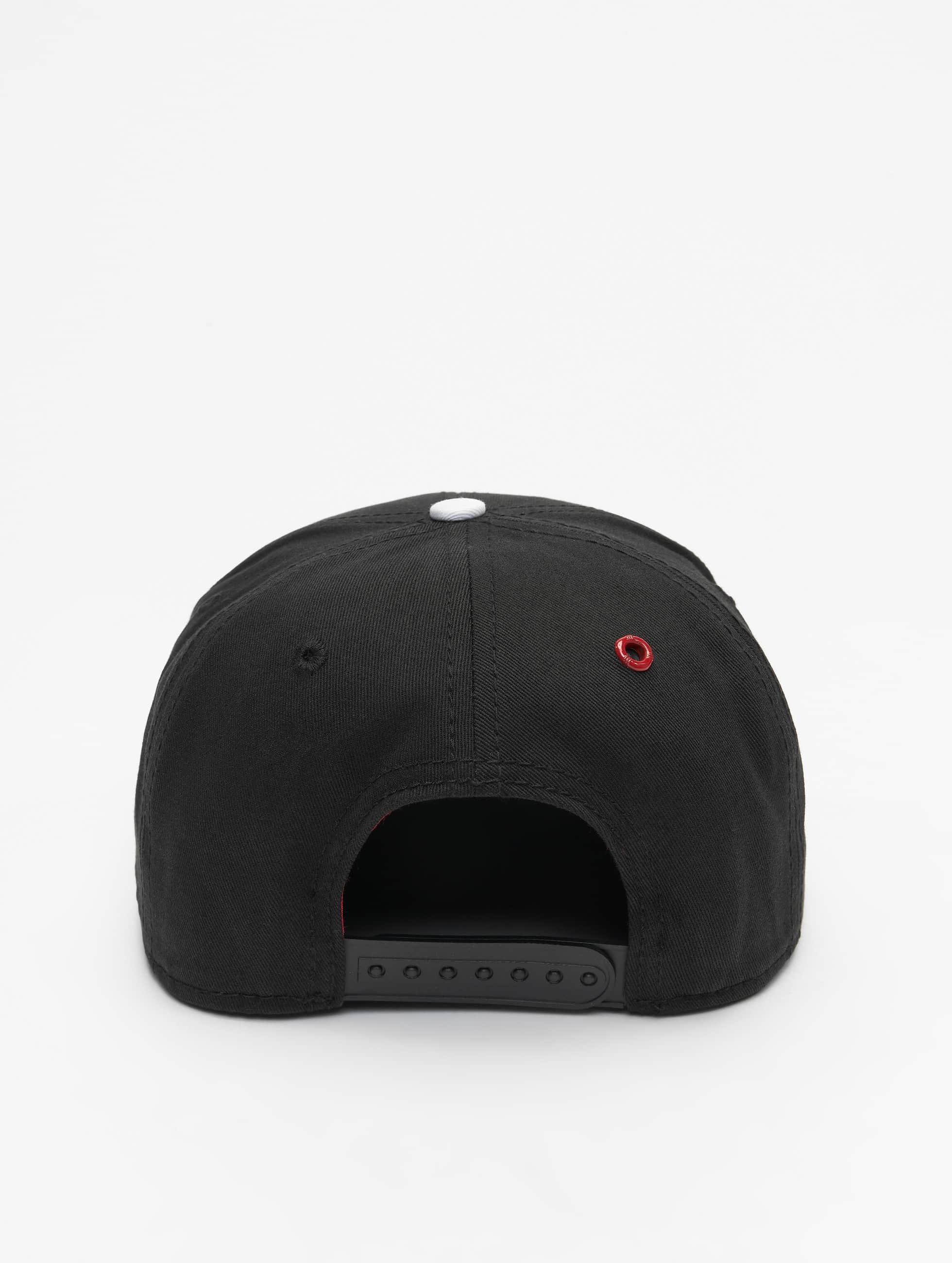 MSTRDS Snapback Caps B Letter musta