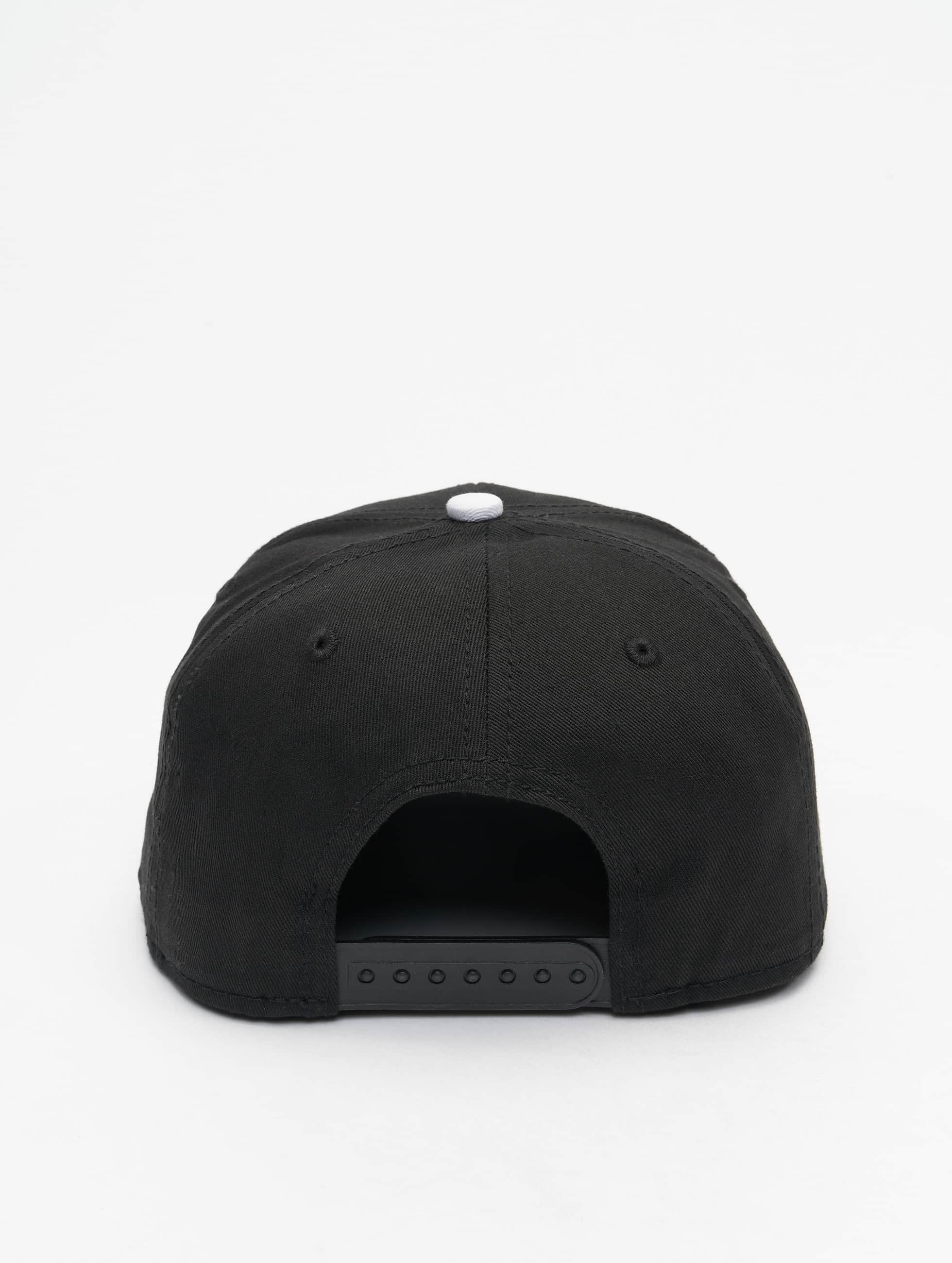 MSTRDS Snapback Caps D Letter musta