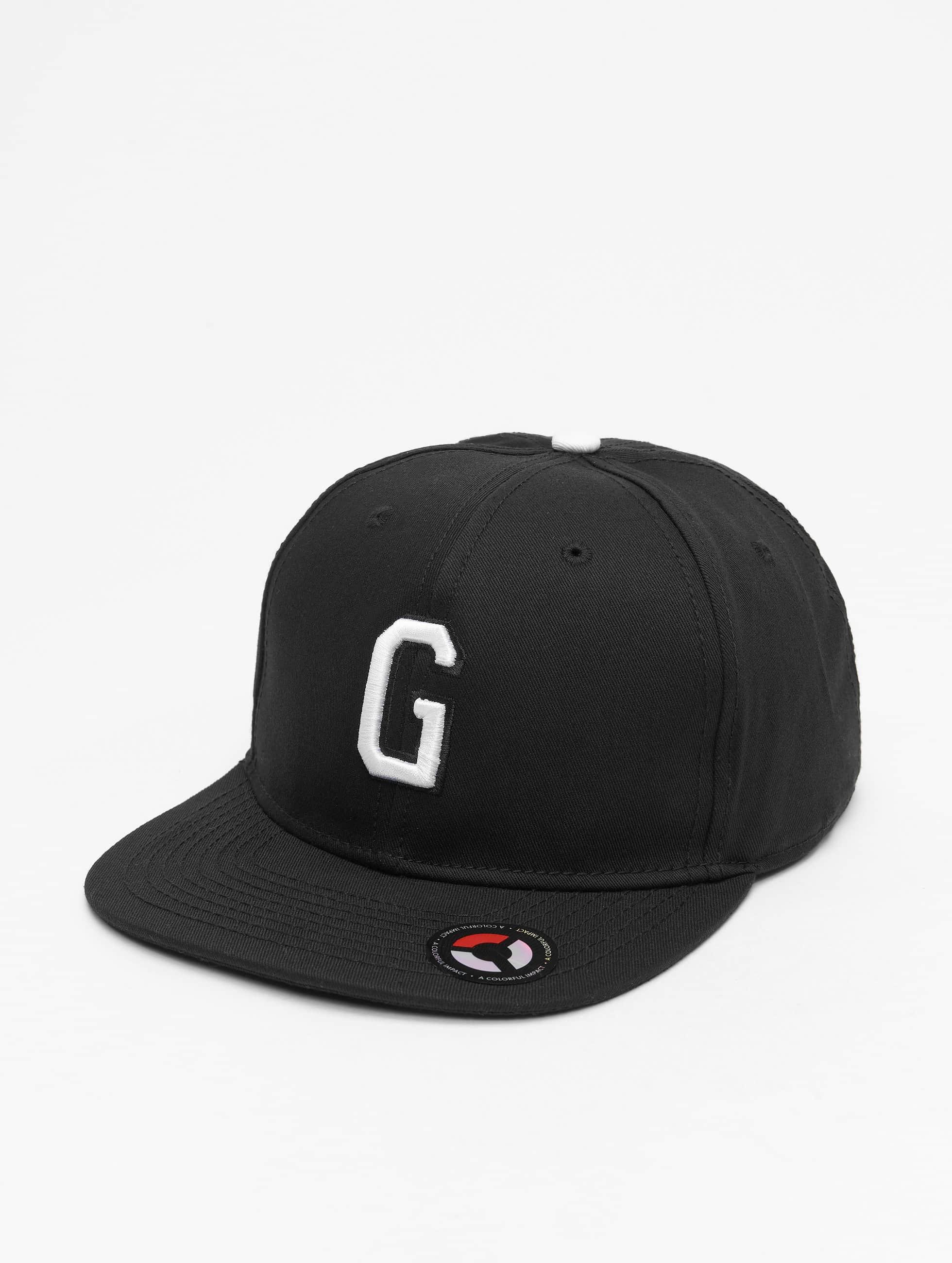 MSTRDS Snapback Caps G Letter musta