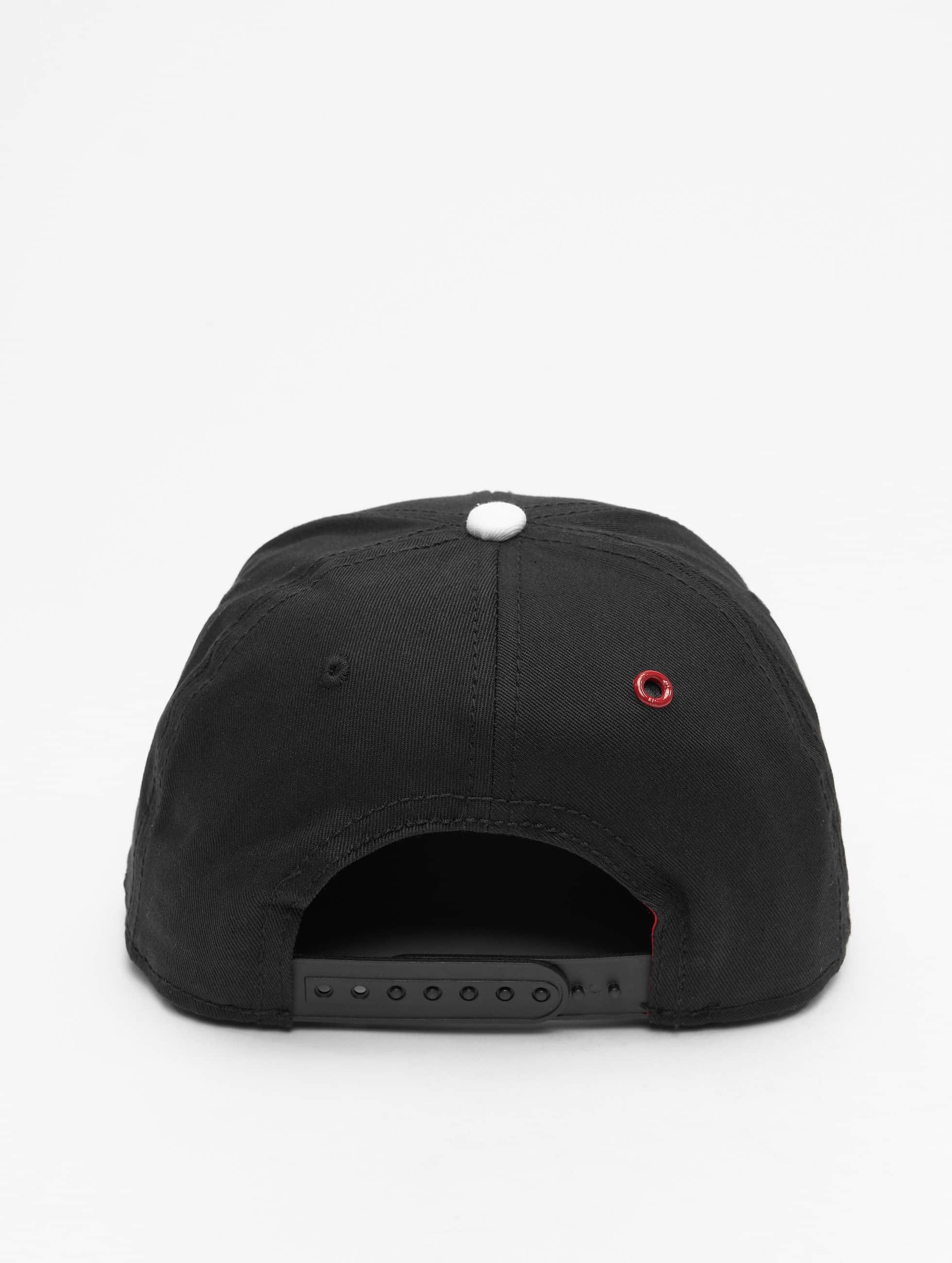 MSTRDS Snapback Caps N Letter musta