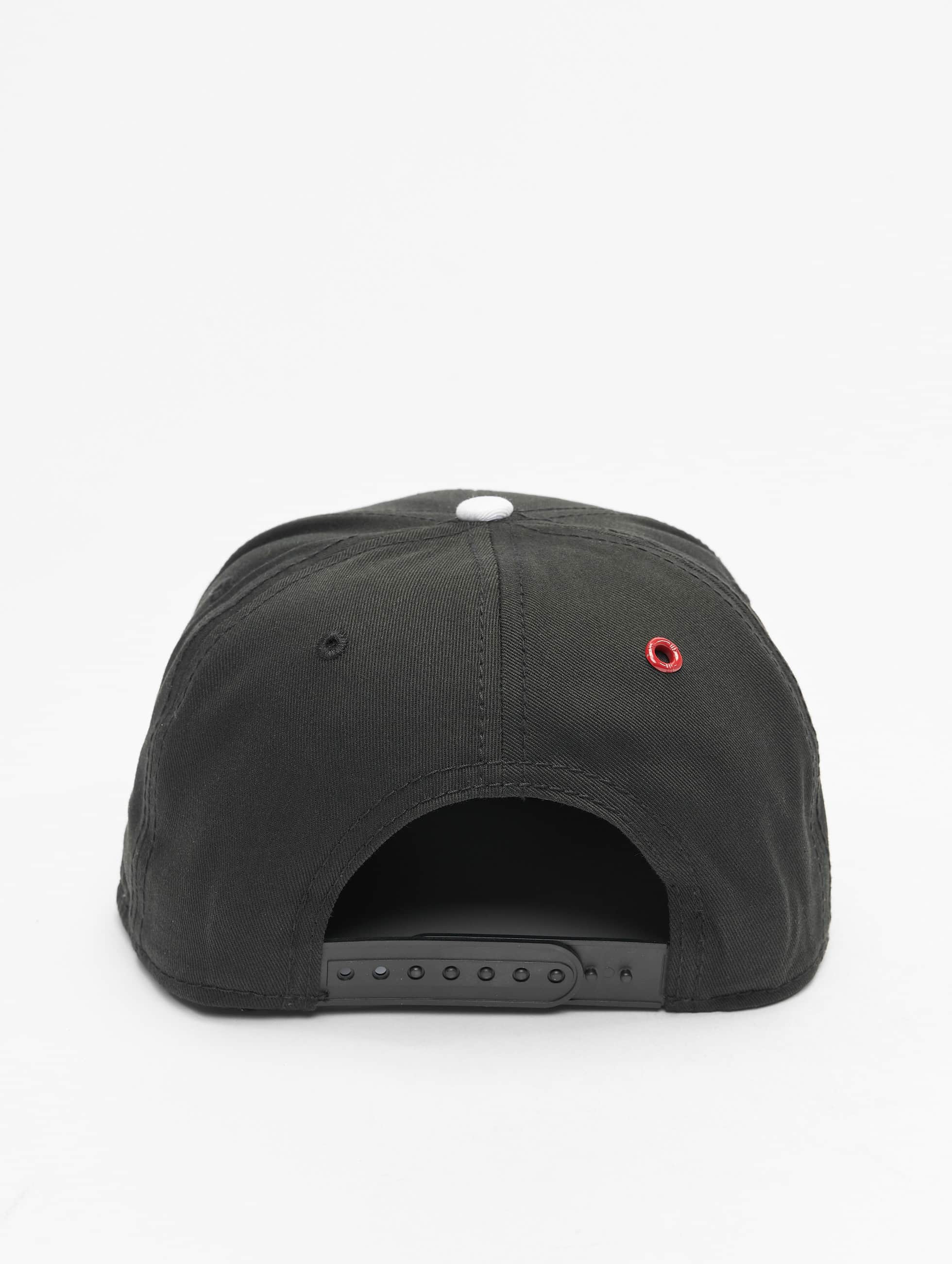 MSTRDS Snapback Caps U Letter musta