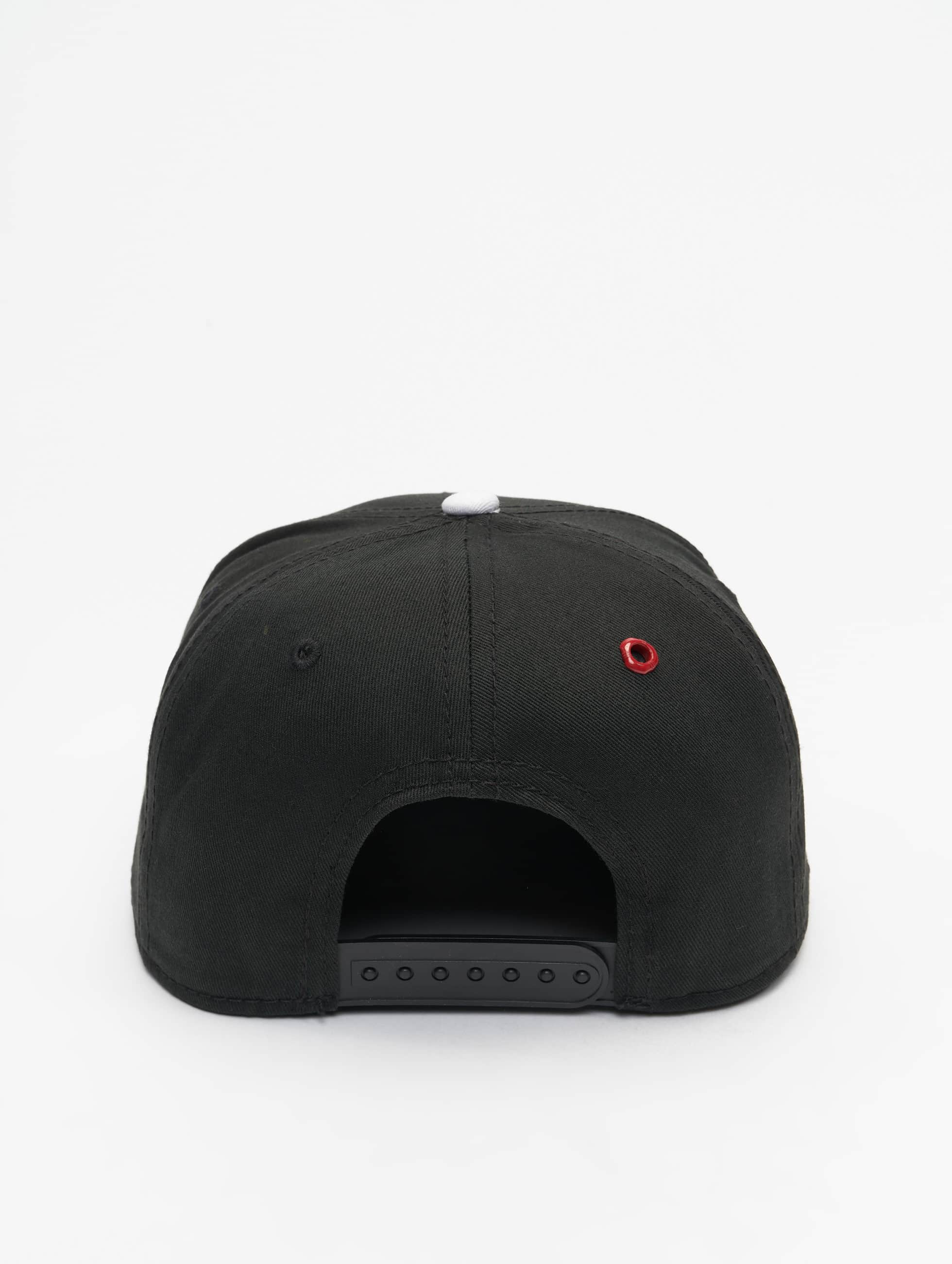 MSTRDS Snapback Caps W Letter musta