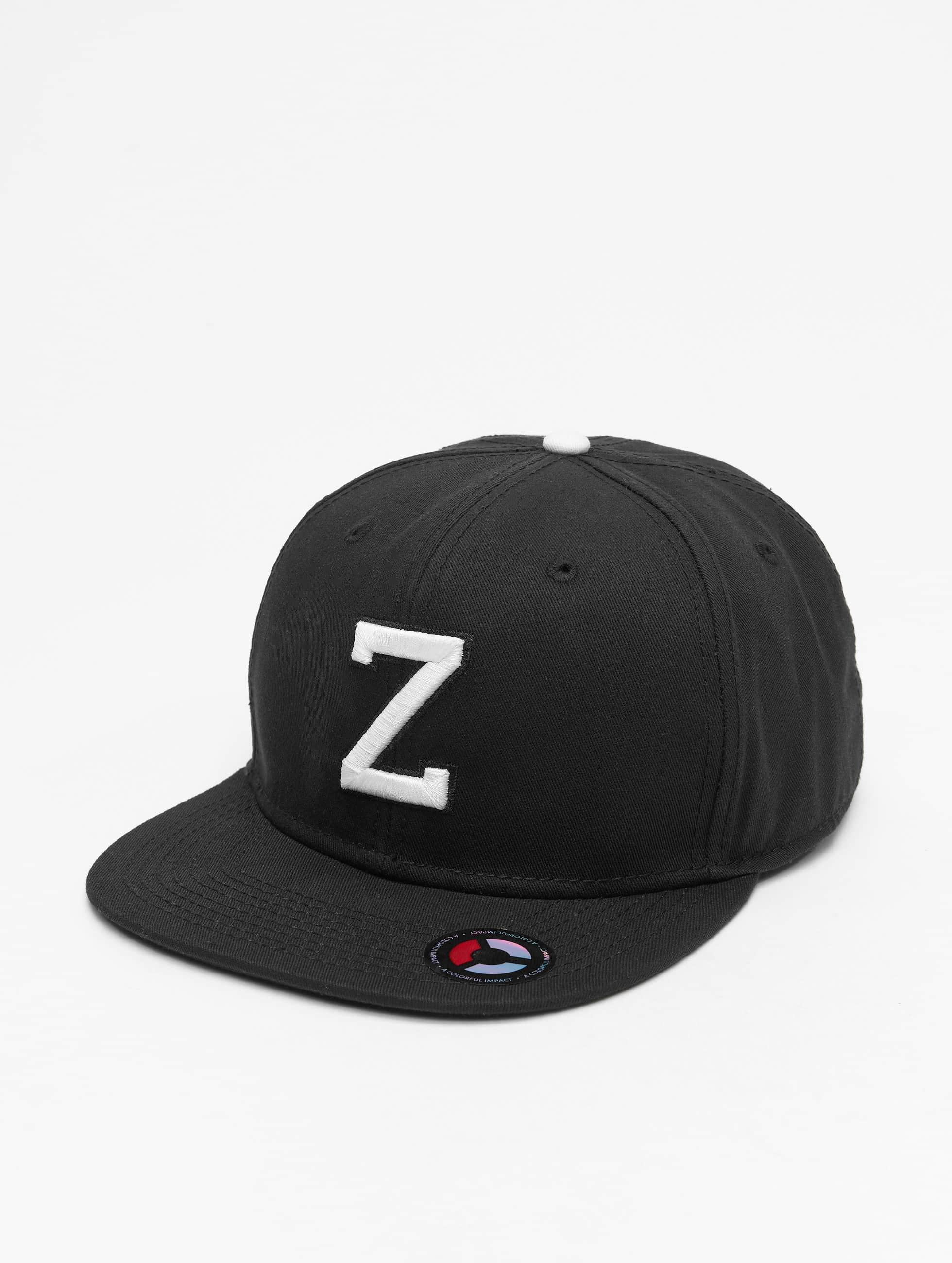 MSTRDS Snapback Caps Z Lette musta
