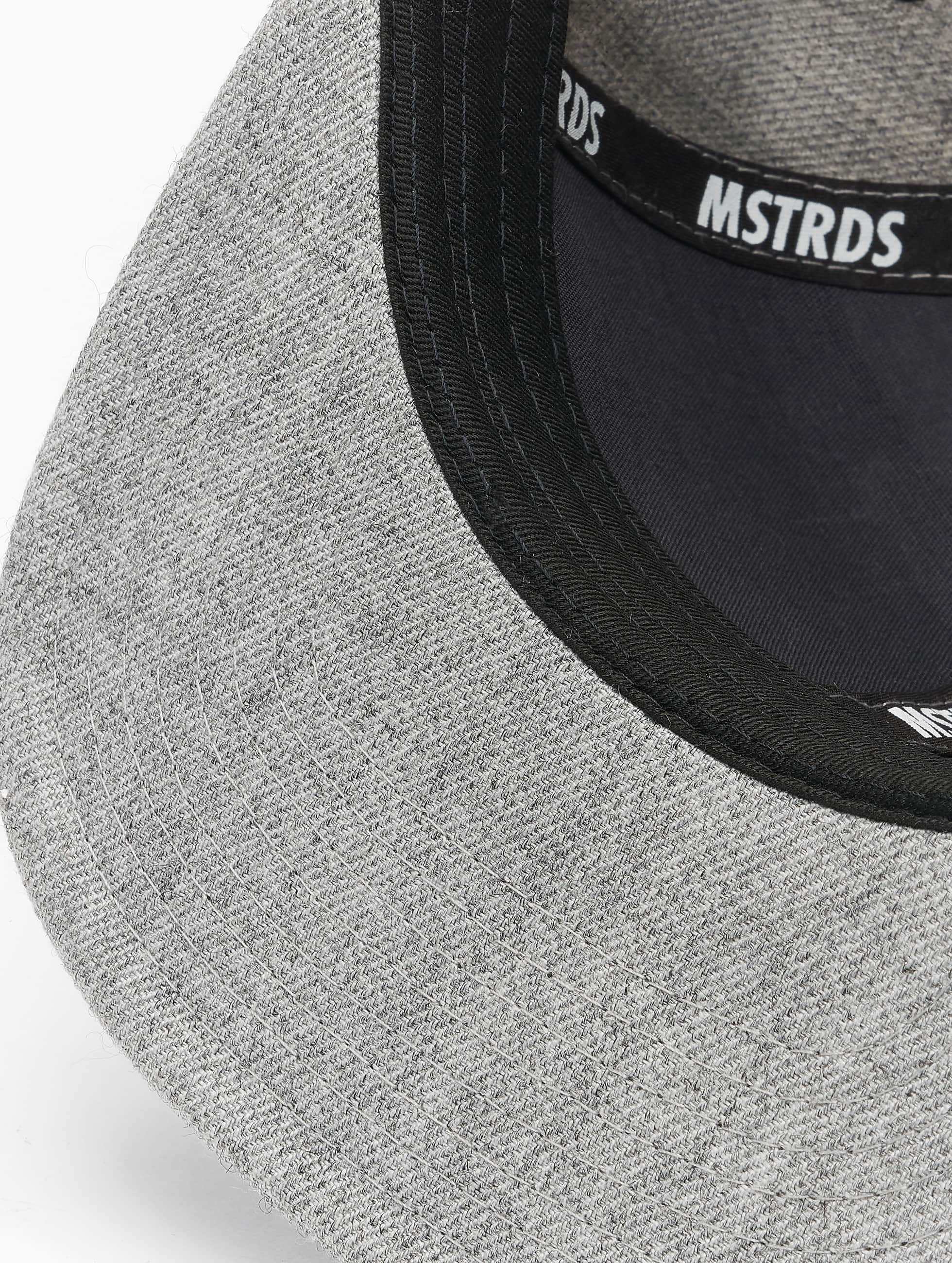 MSTRDS Snapback Caps T Letter szary