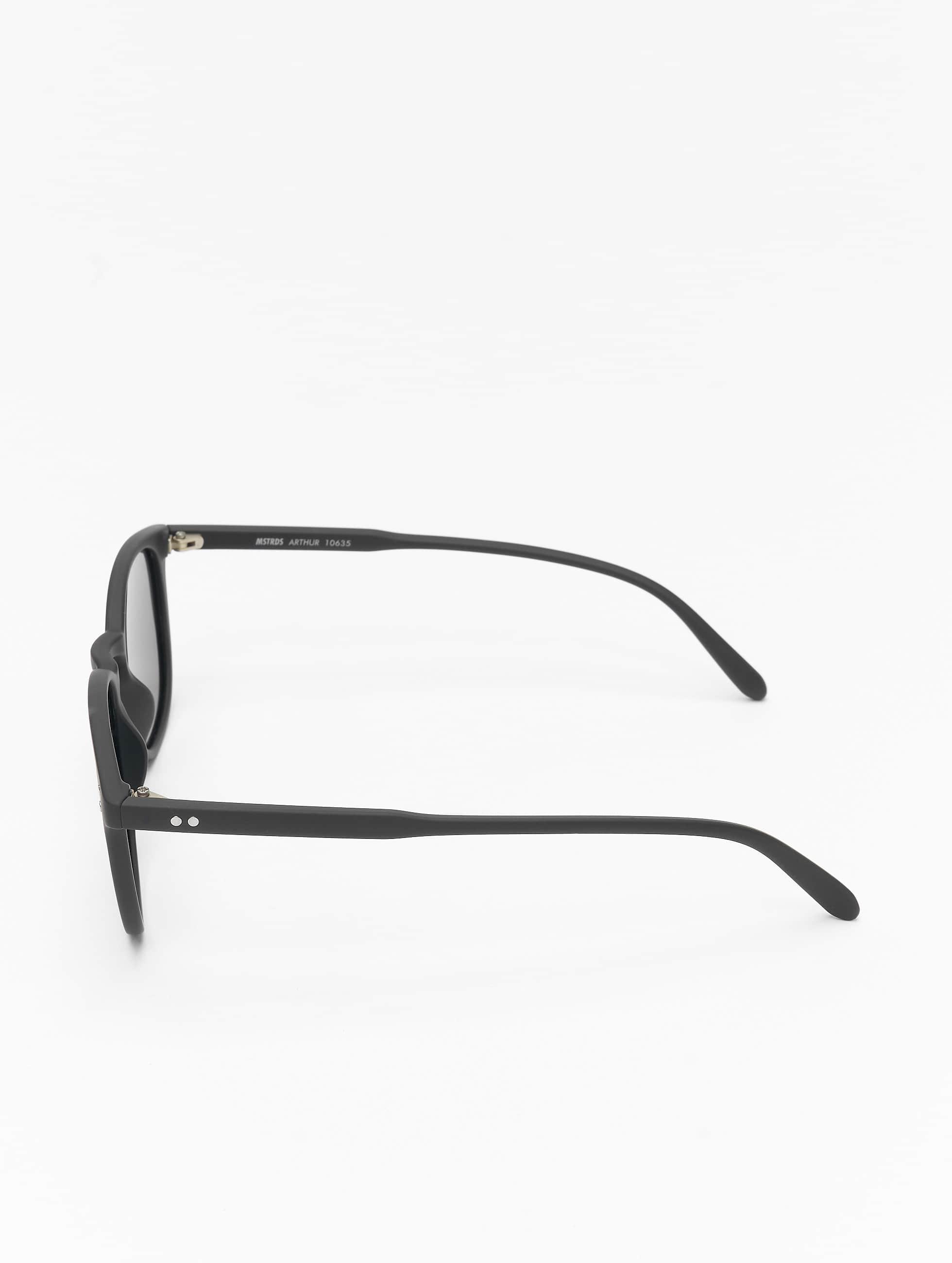 MSTRDS Solglasögon Arthur Polarized Mirror svart
