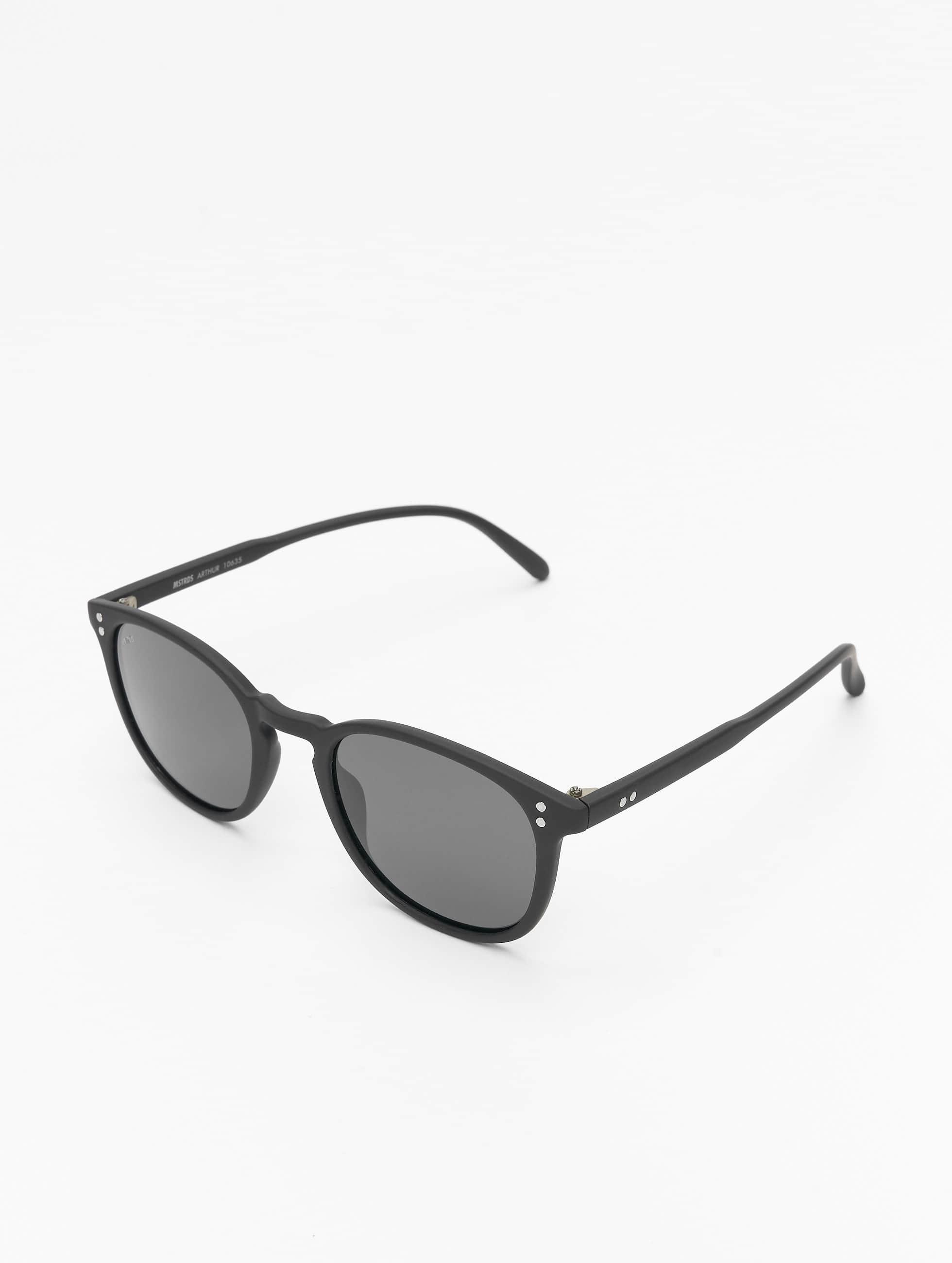 Sonnenbrille Arthur Polarized Mirror in schwarz