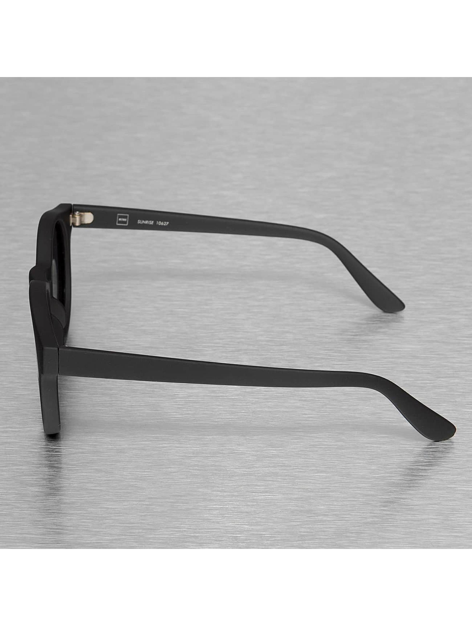MSTRDS Sonnenbrille Sunrise Polarized schwarz
