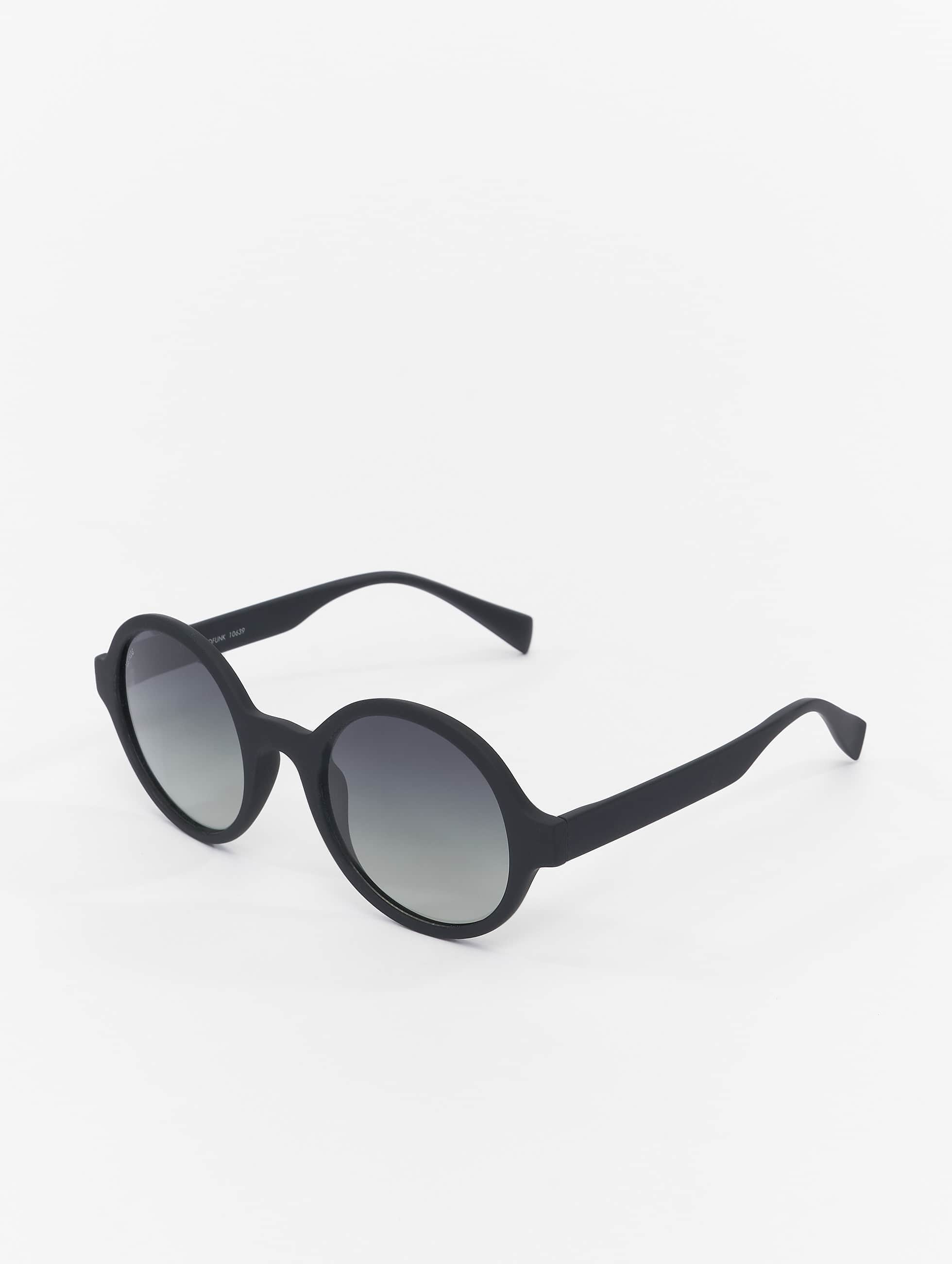 Sonnenbrille Retro Funk Polarized in schwarz