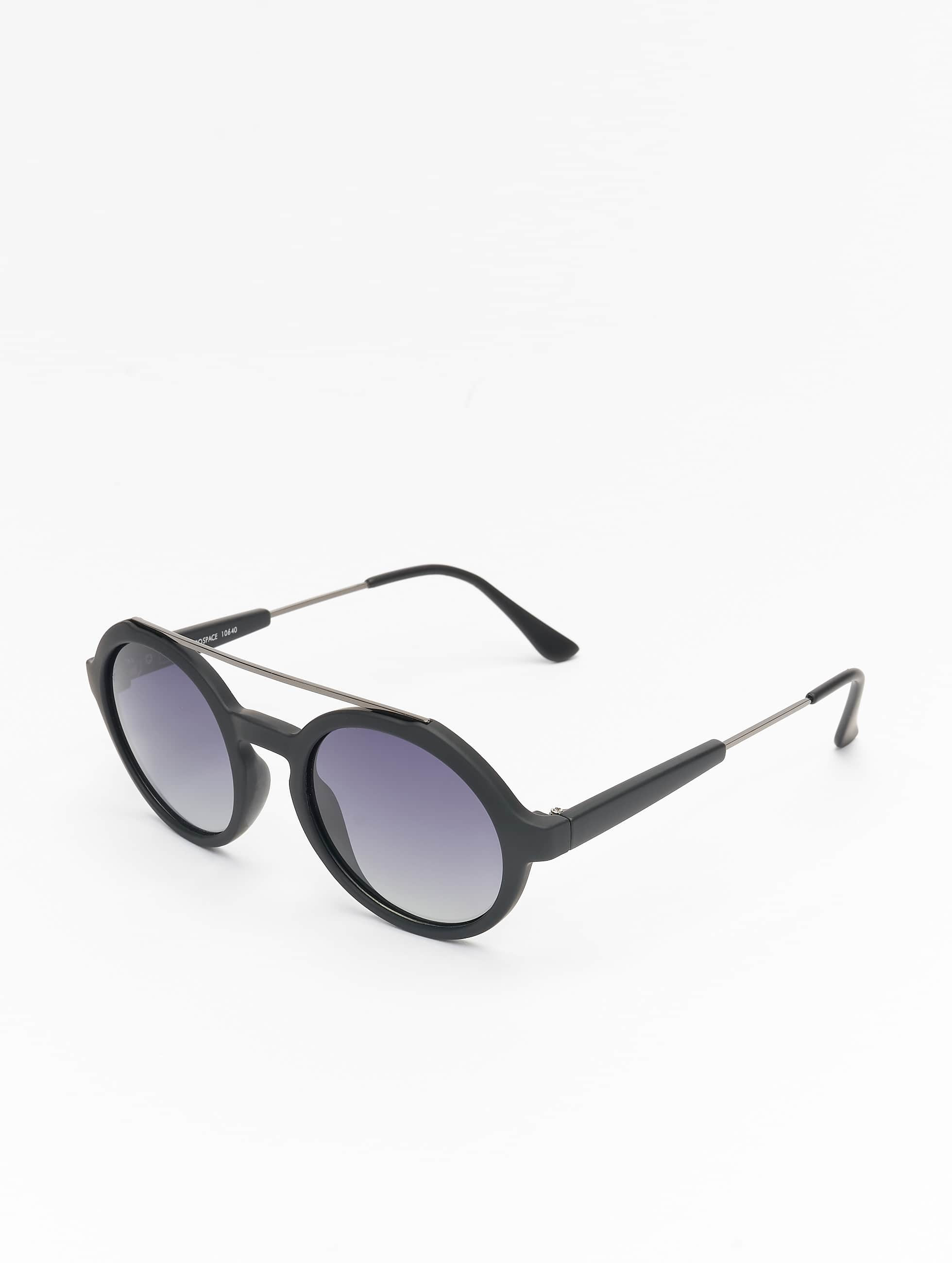 Sonnenbrille Retro Space Polarized Mirror in schwarz