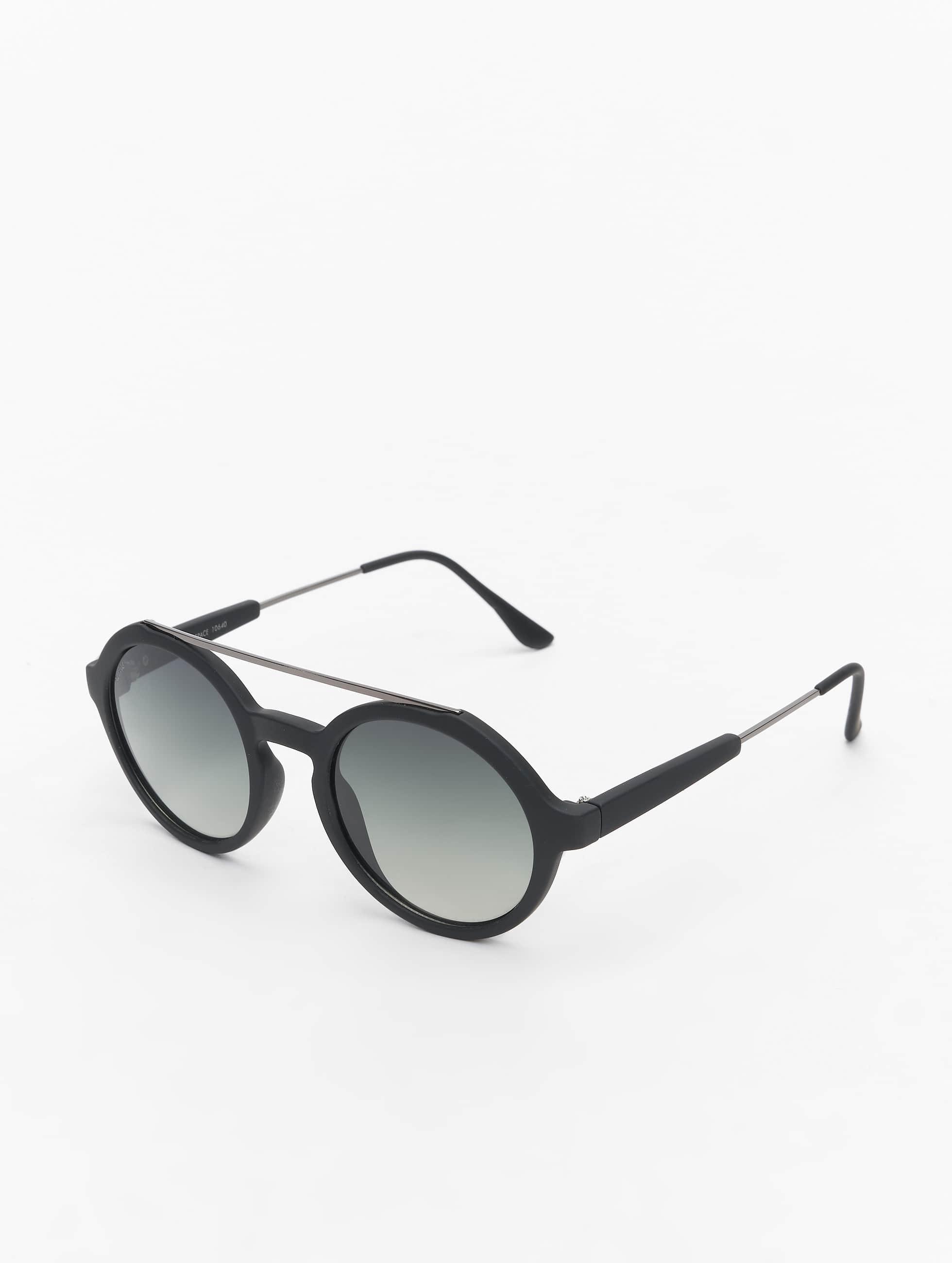 Sonnenbrille Retro Space Polarized Mirror in schwarz
