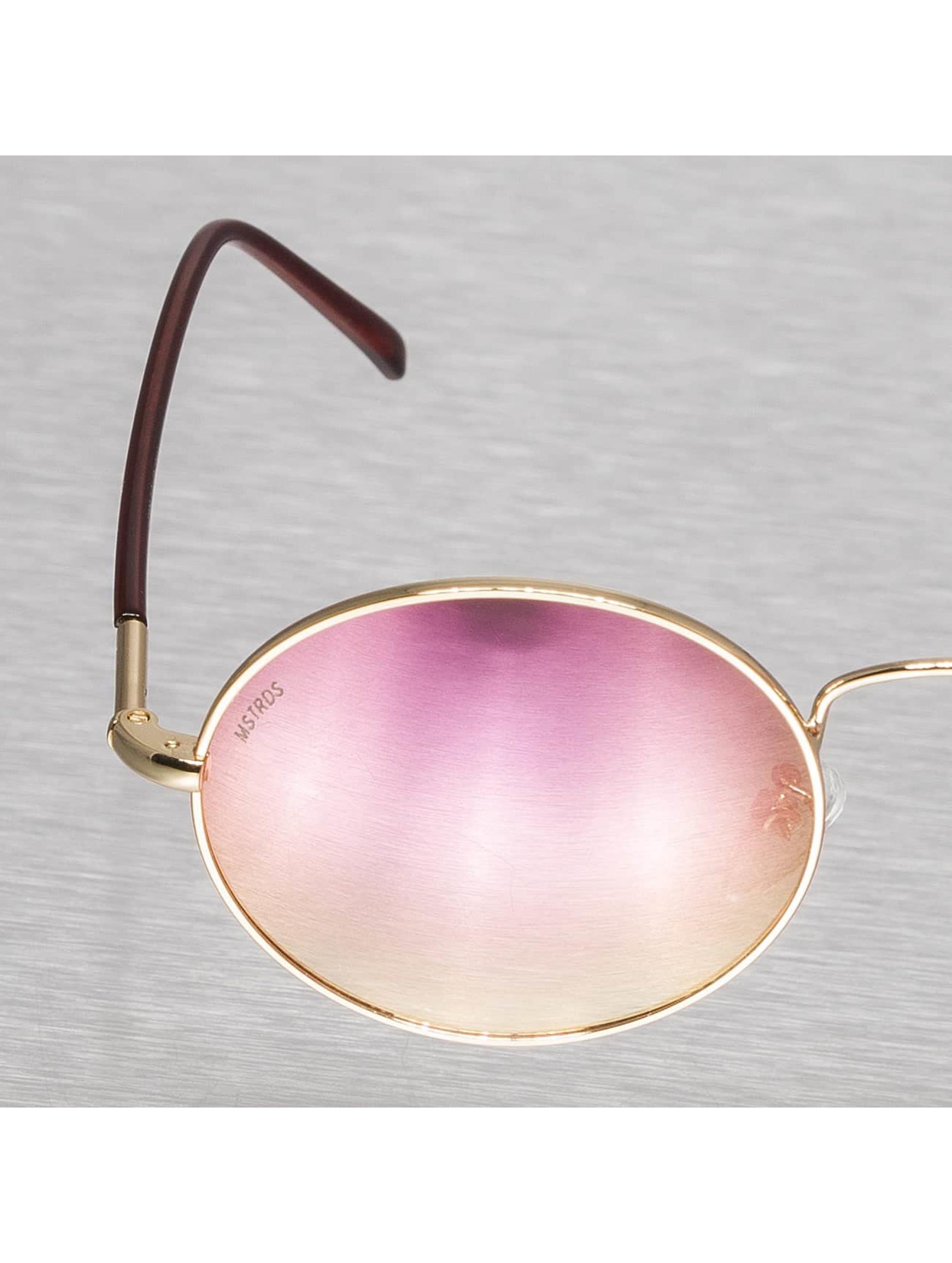 MSTRDS Sunglasses Flower Mirror gold