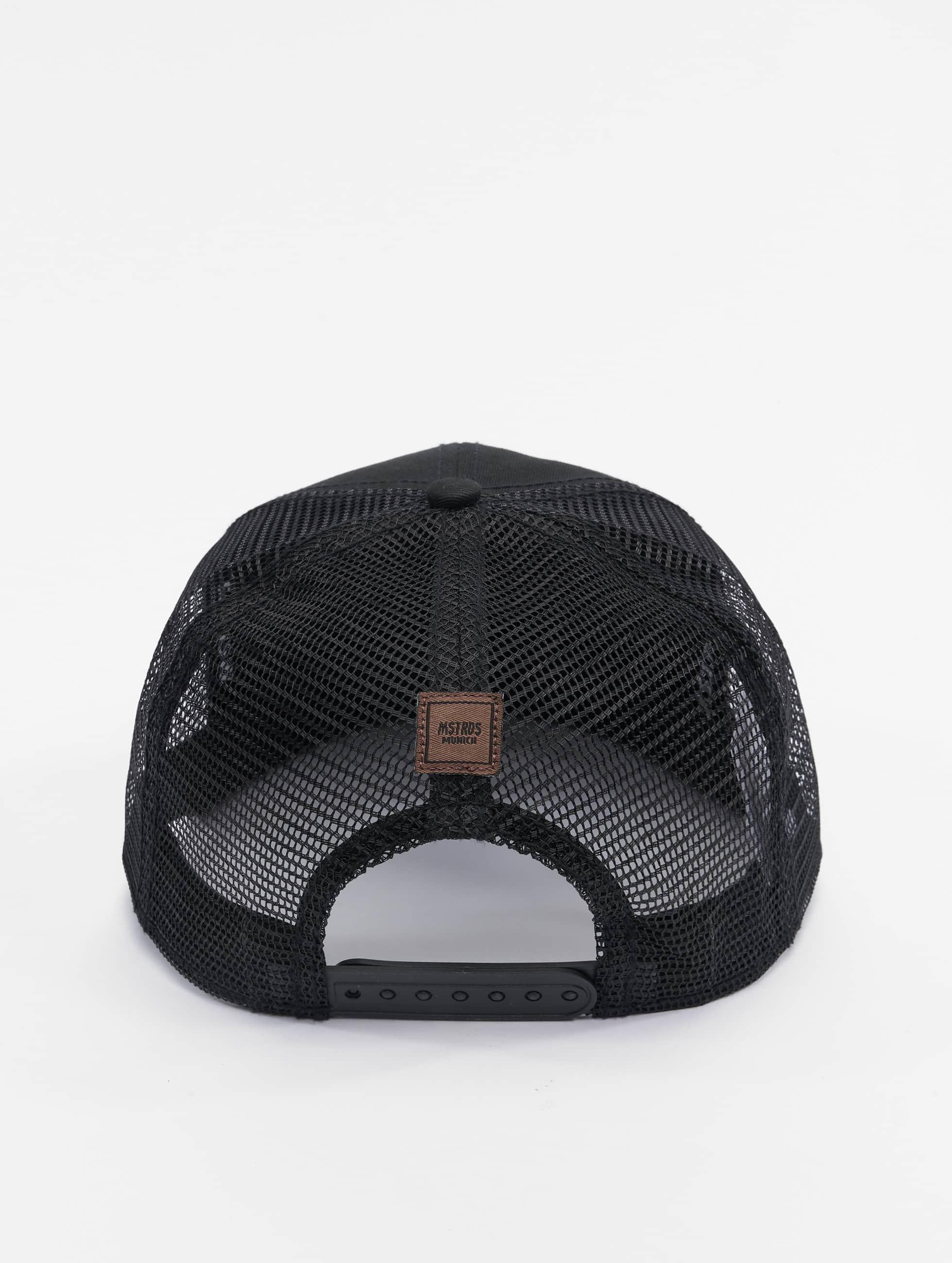 MSTRDS Trucker Cap Money Clip black