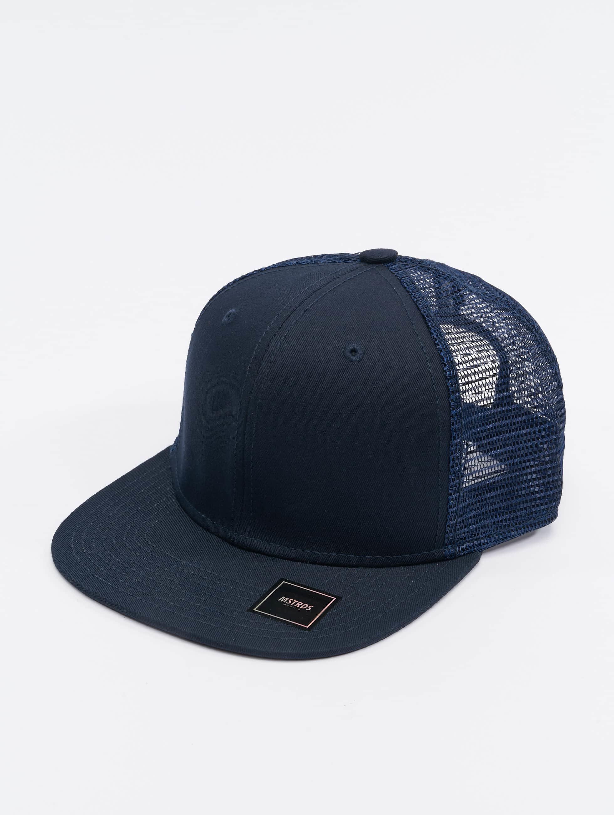 MSTRDS Trucker Cap Money Clip blau