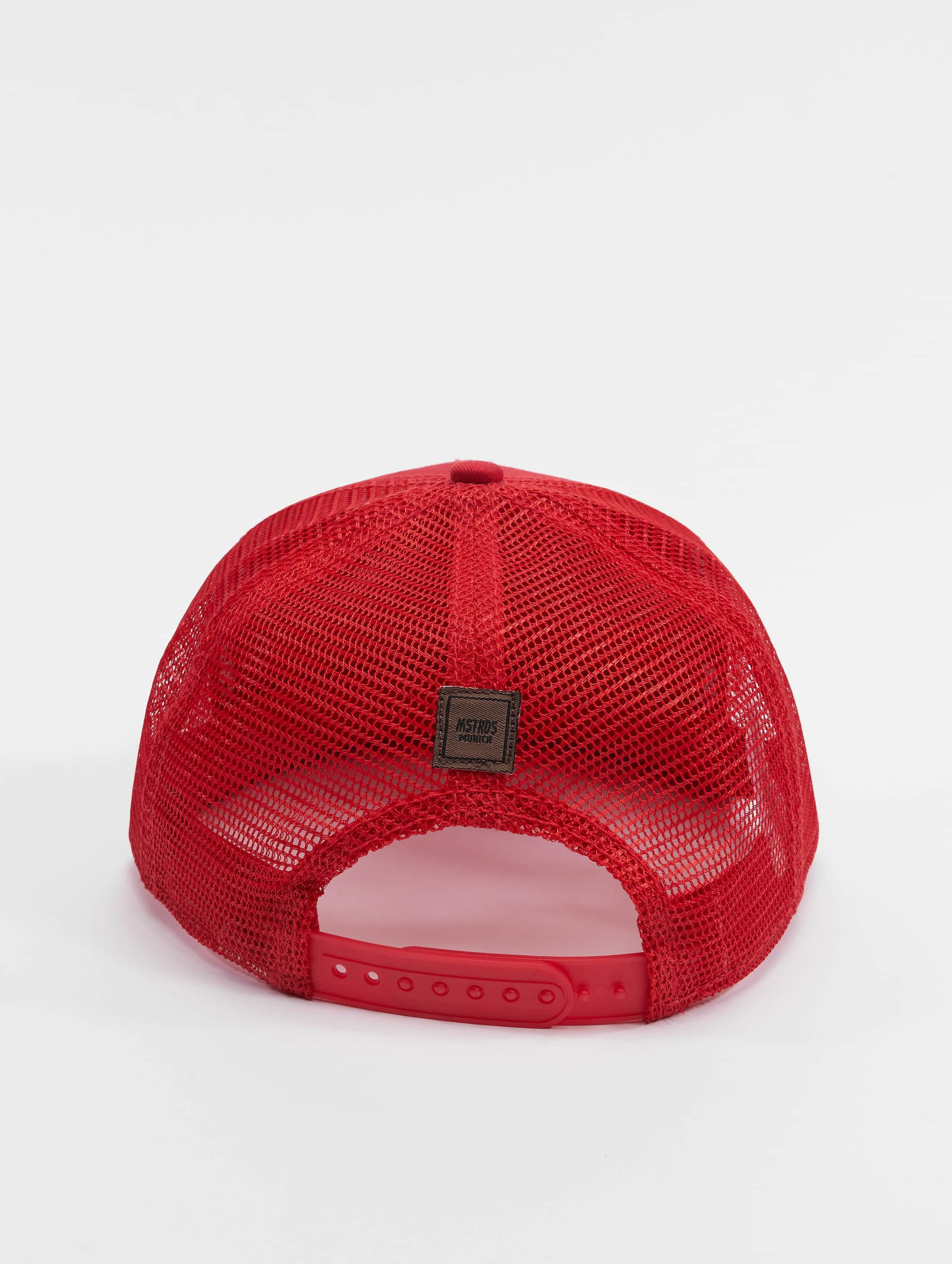 MSTRDS Trucker Cap Money Clip red