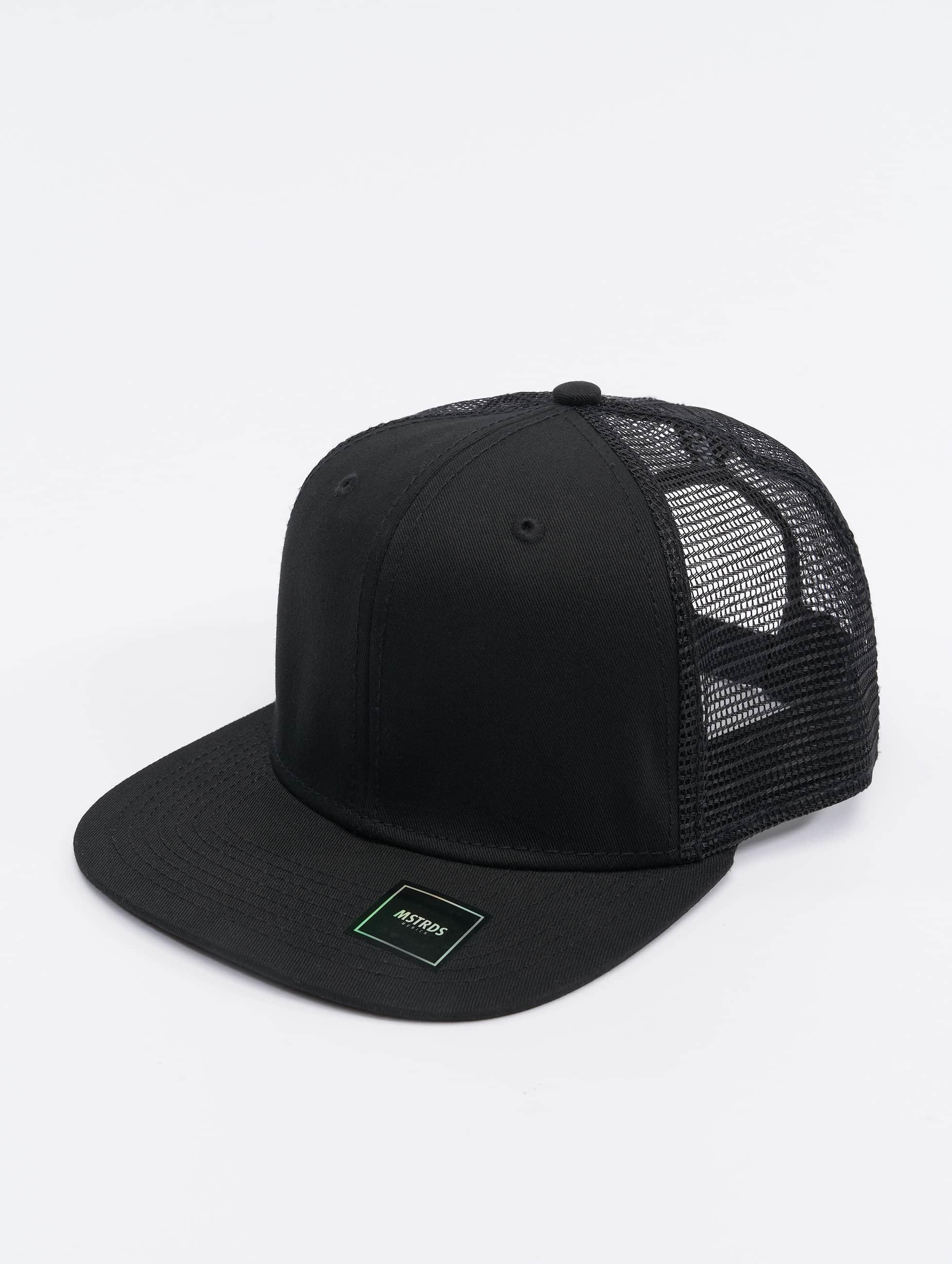 MSTRDS Trucker Cap Money Clip schwarz
