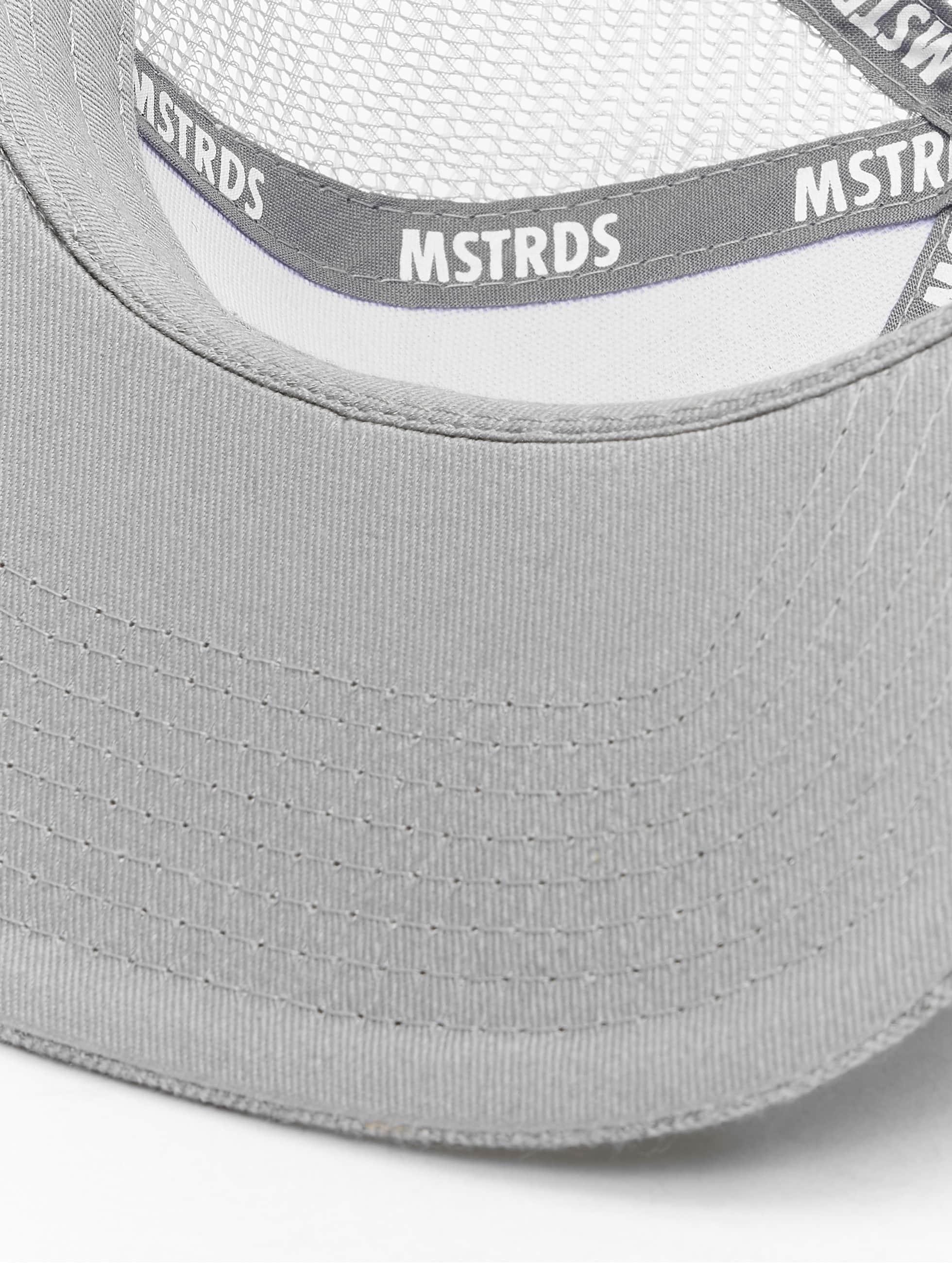MSTRDS Trucker Caps Money Clip szary