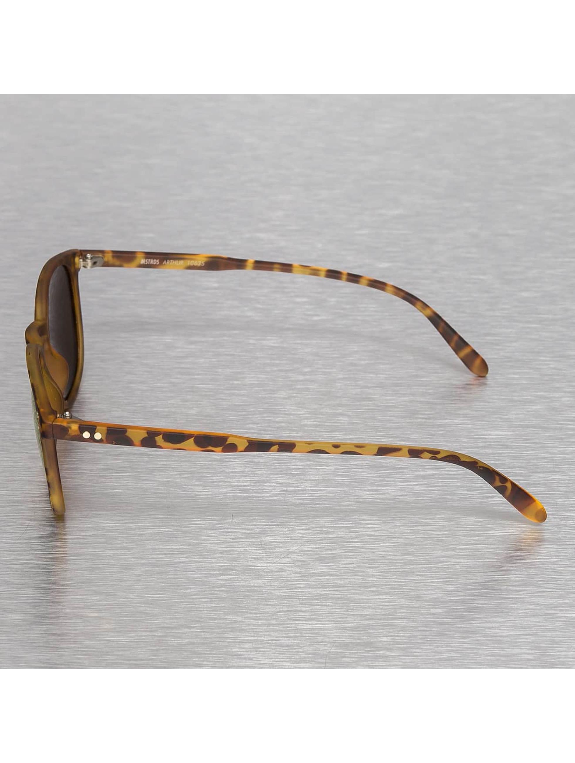 MSTRDS Zonnebril Arthur Polarized Mirror bruin