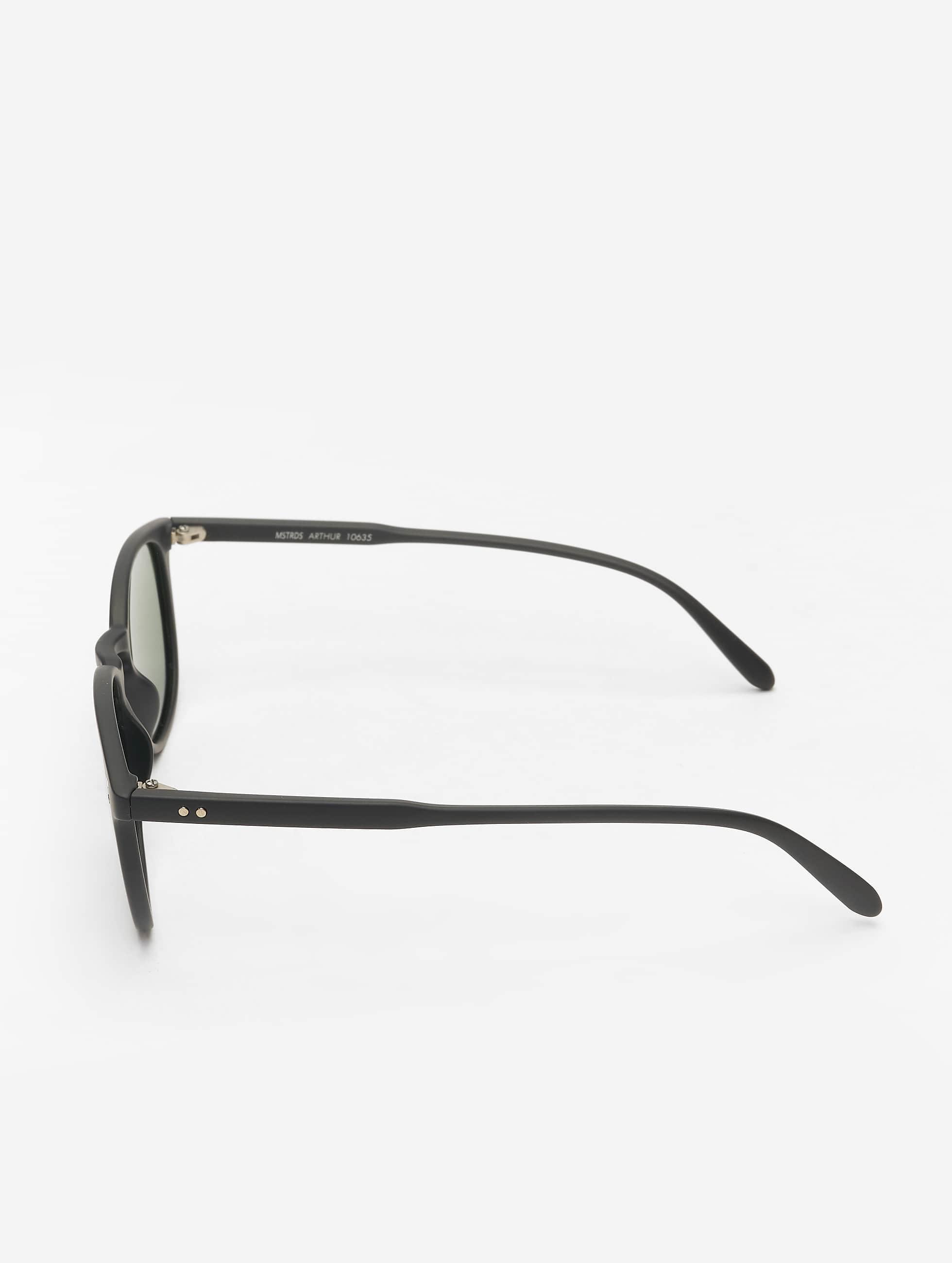 MSTRDS Zonnebril Arthur Polarized Mirror zwart