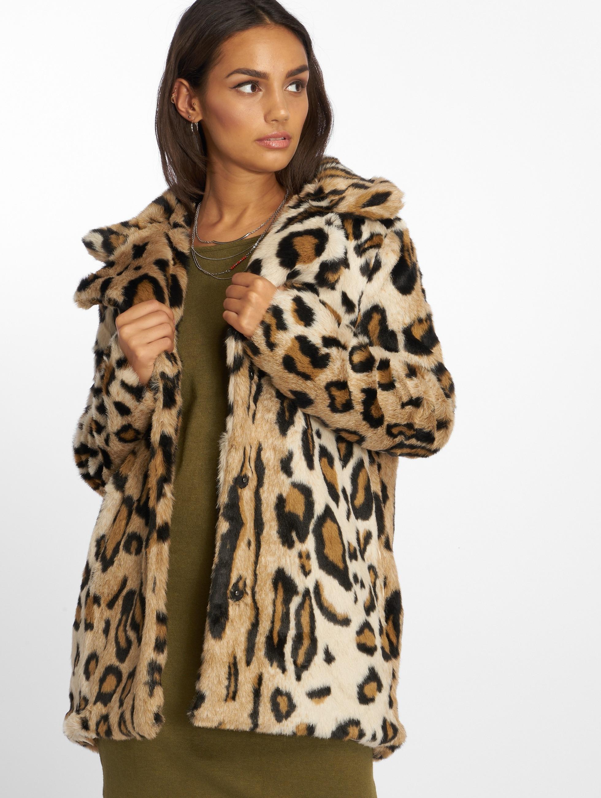 Kd Leo Jacket Na Leoprint Fur Winter Faux f7vgyYb6