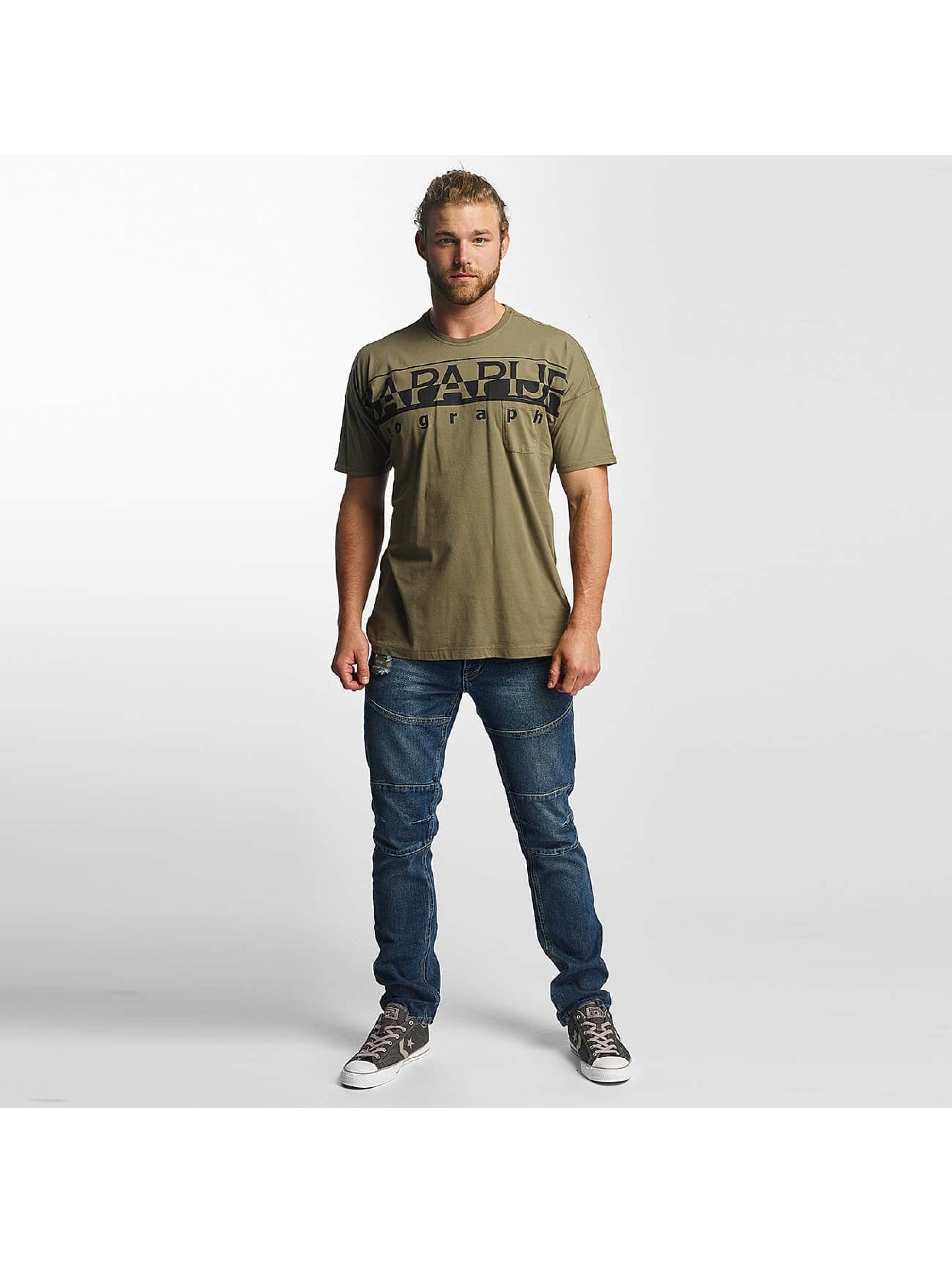 Napapijri T-skjorter Saumur grøn